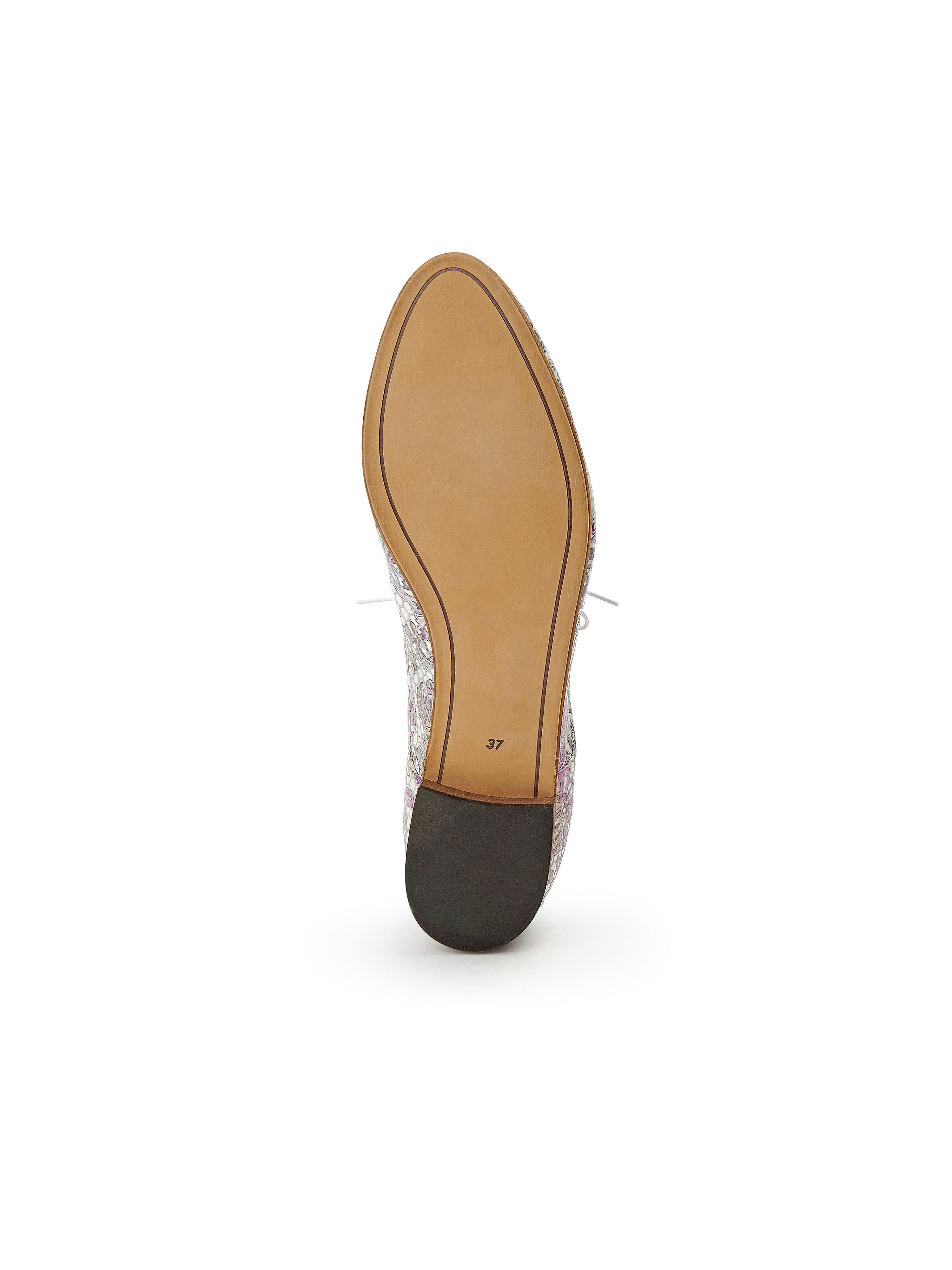 iiM77 - Schnürer aus 100% Leder beliebte - Weiß-Multicolor Gute Qualität beliebte Leder Schuhe 878c37