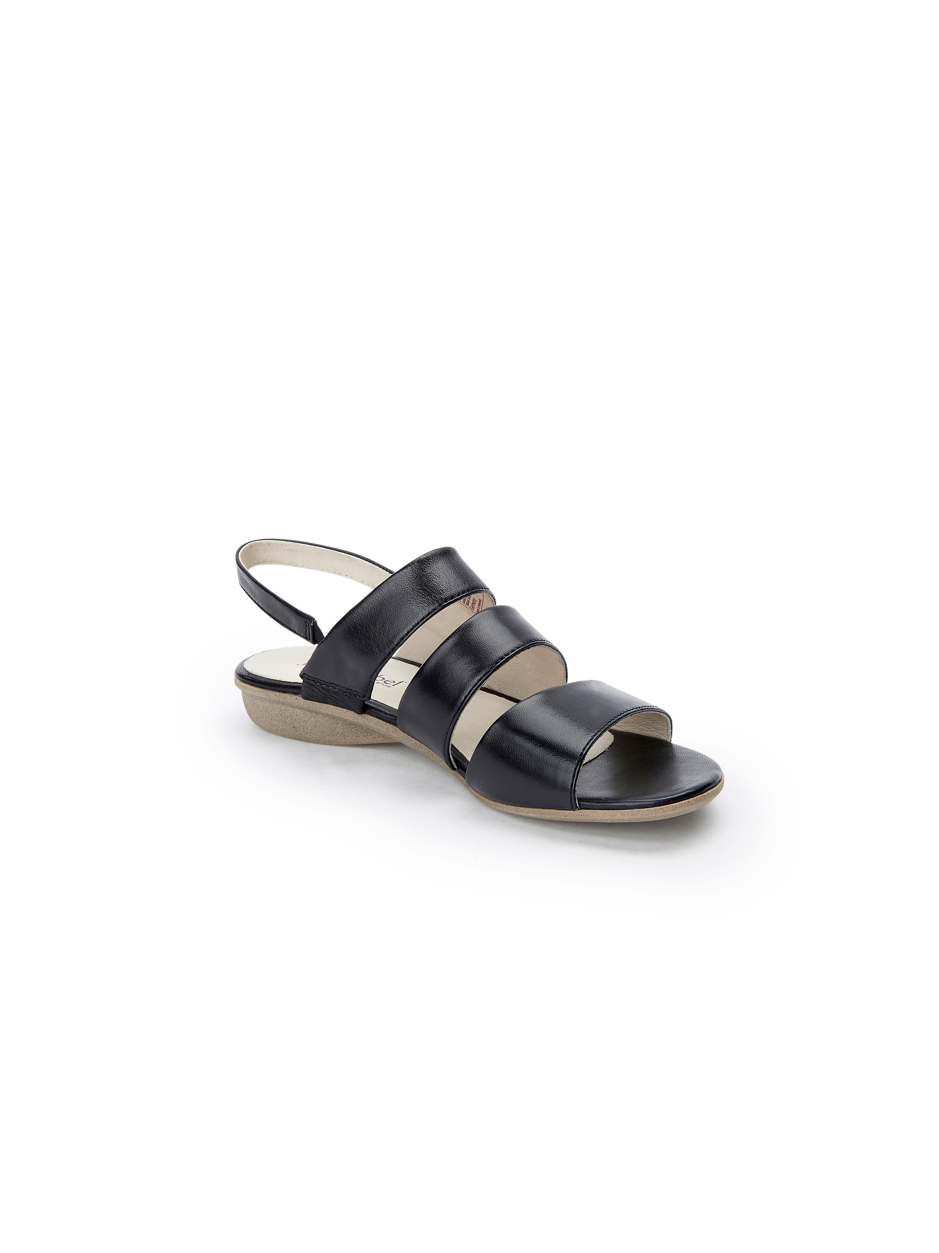Josef Seibel - Sandale aus 100% Leder - Schwarz Gute Qualität beliebte Schuhe
