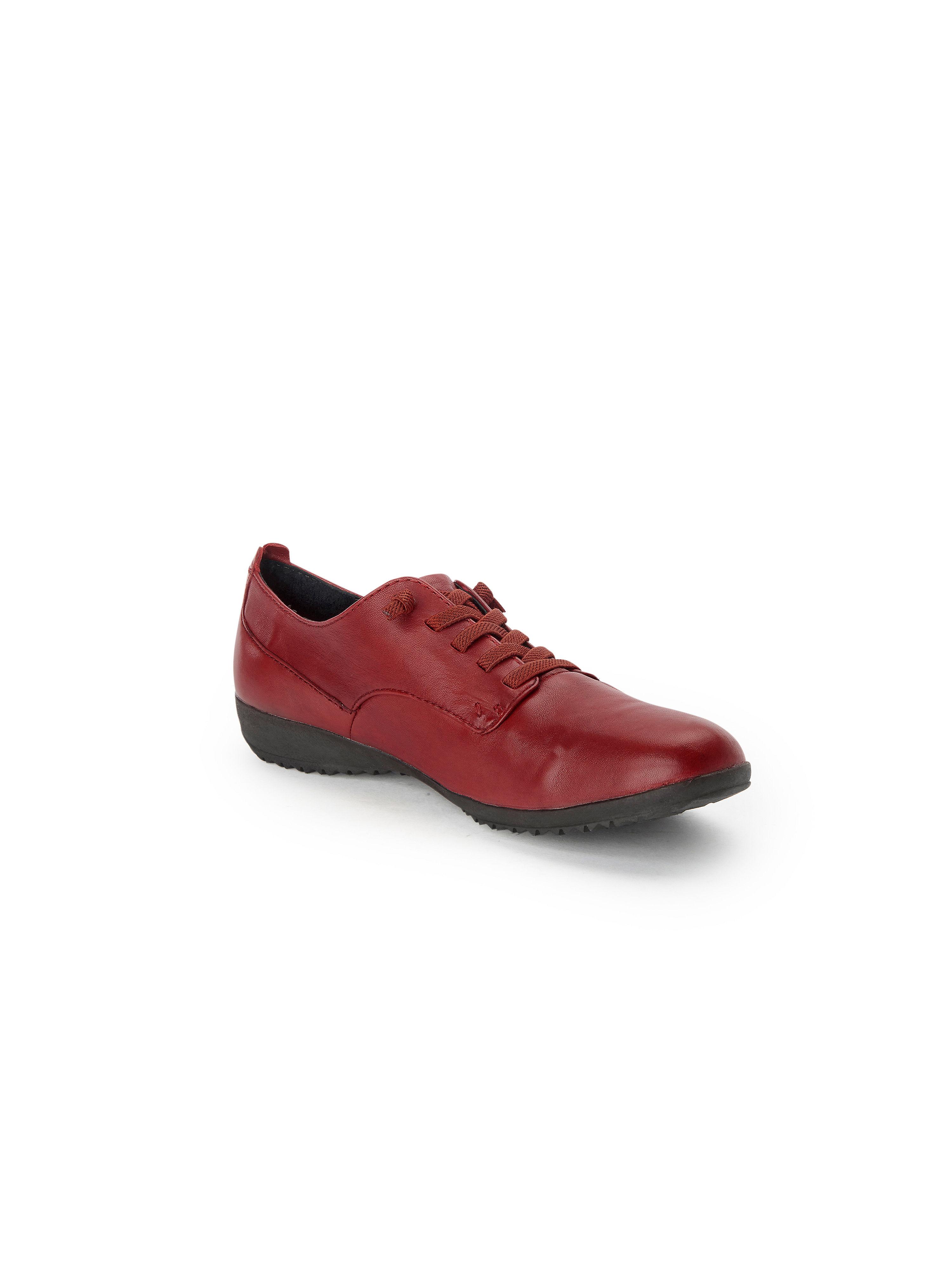 Josef Seibel - Supersofter Schnürer aus 100% Leder - Rot Gute Qualität beliebte Schuhe