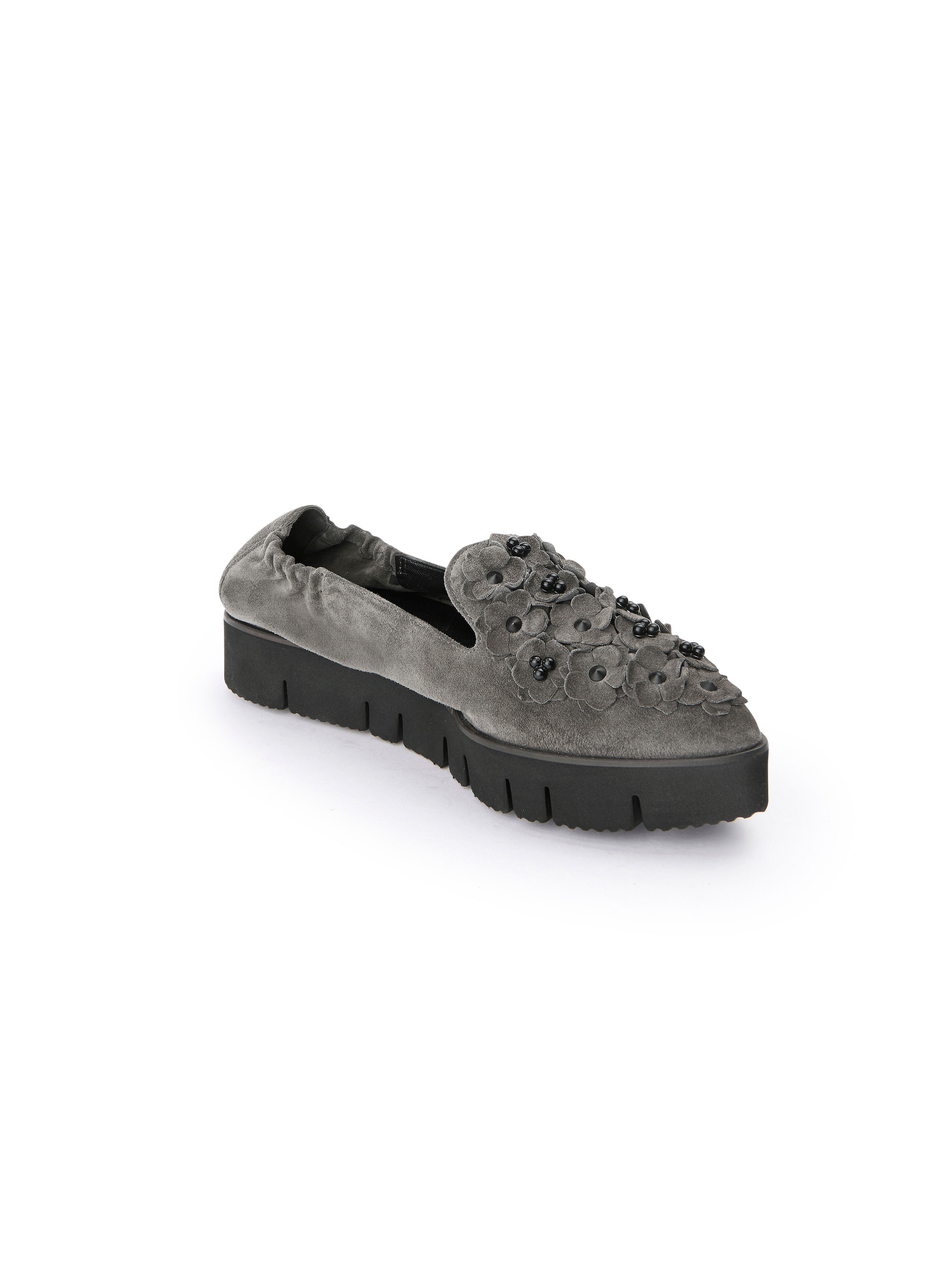 Kennel & Schmenger - Plateau-Slipper PIA XXL - Steingrau Gute Qualität beliebte Schuhe
