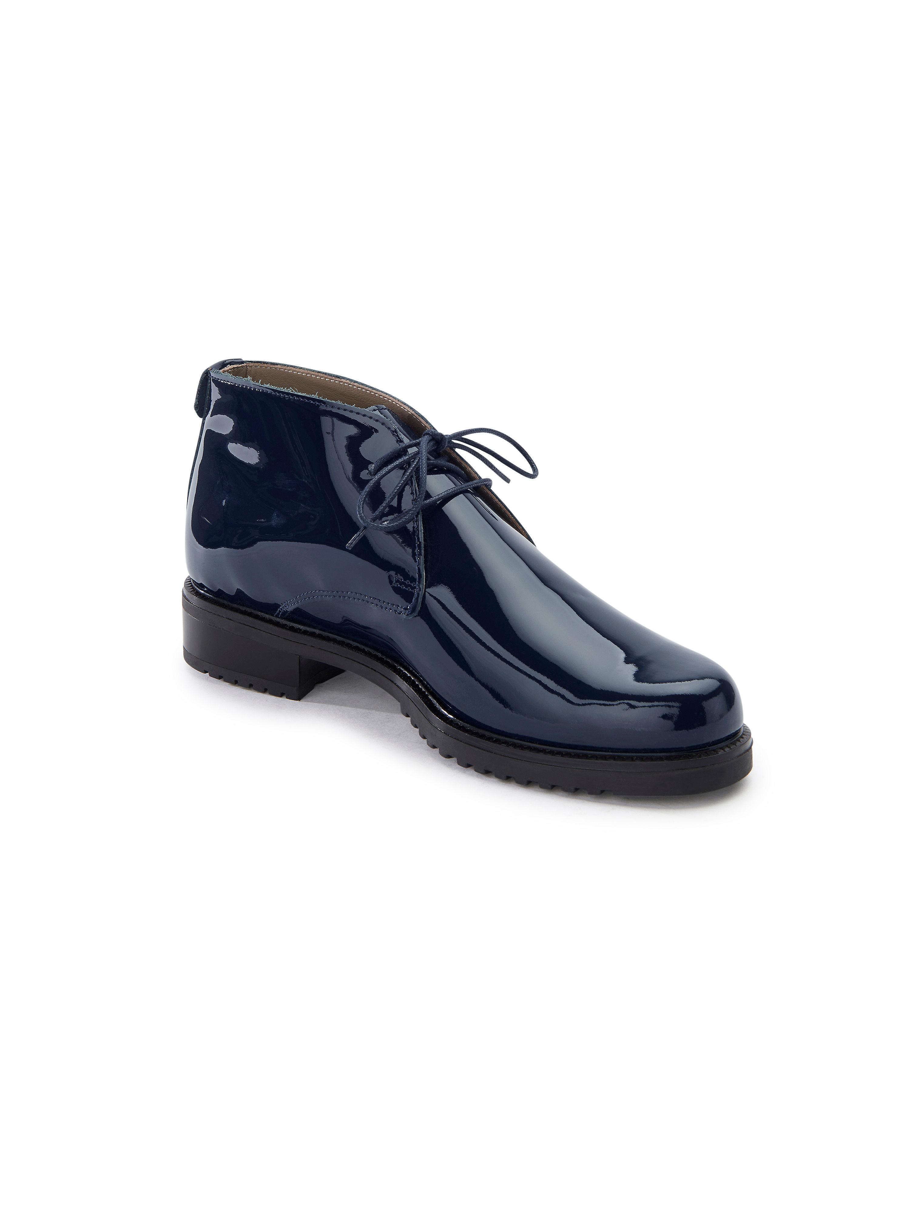 Ledoni - Kurz-Stiefelette aus Gute 100% Leder - Marine Gute aus Qualität beliebte Schuhe 82fdba