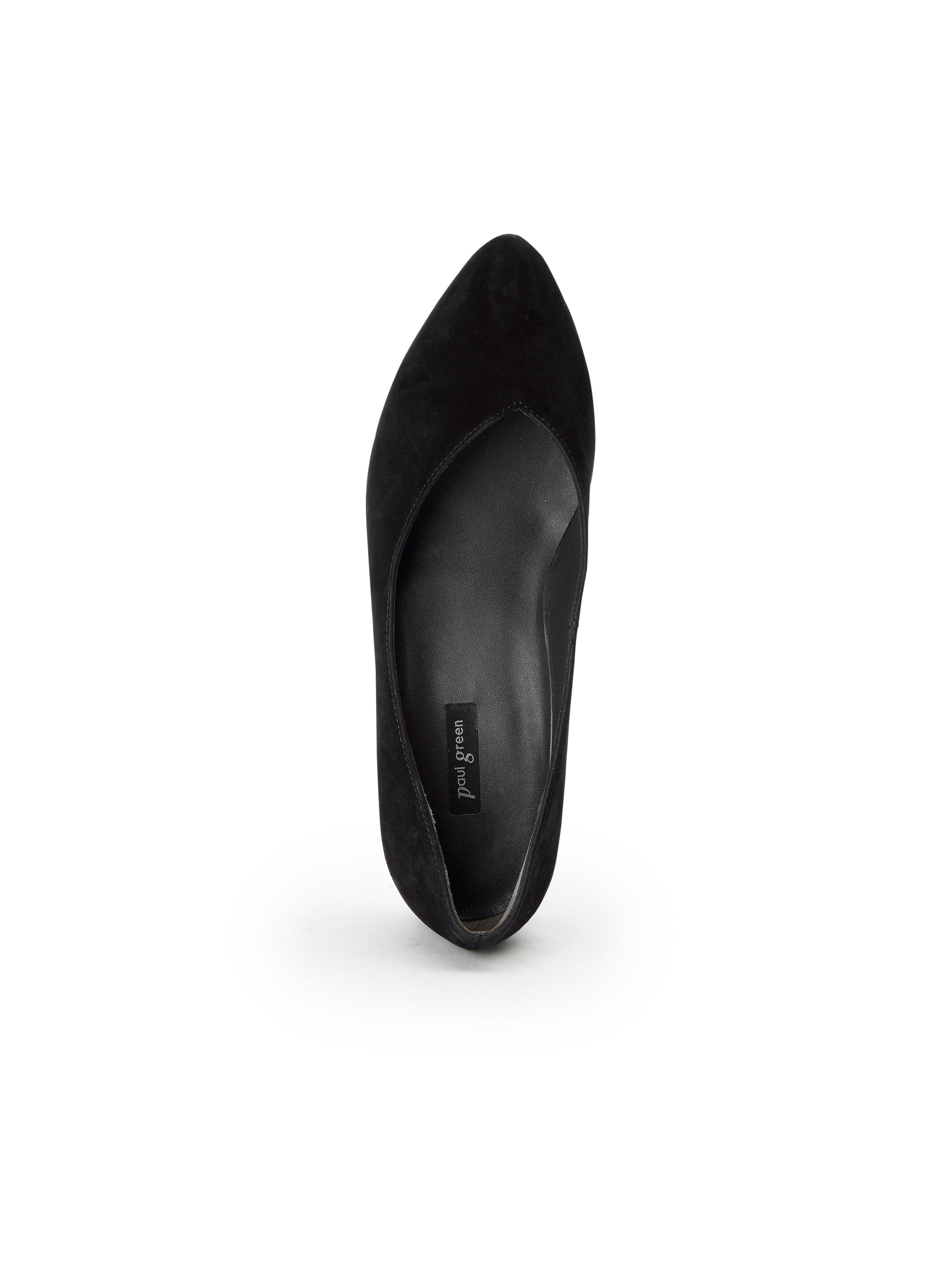 Paul Grün - Ballerina aus 100% Leder Leder Leder - Schwarz Gute Qualität beliebte Schuhe 1db32c