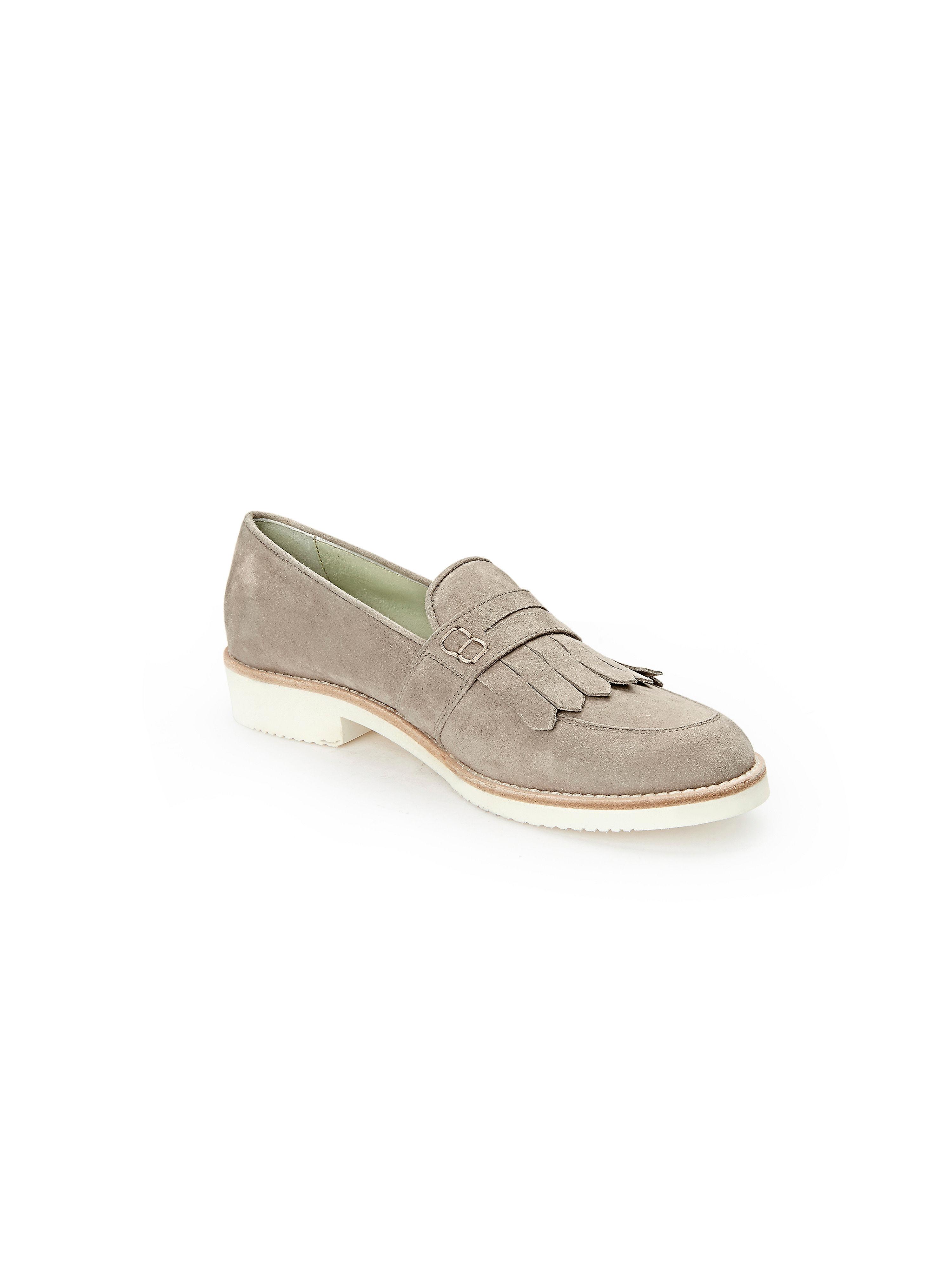 Peter Hahn exquisit - Slipper aus 100% Leder - Sand Gute Qualität beliebte Schuhe