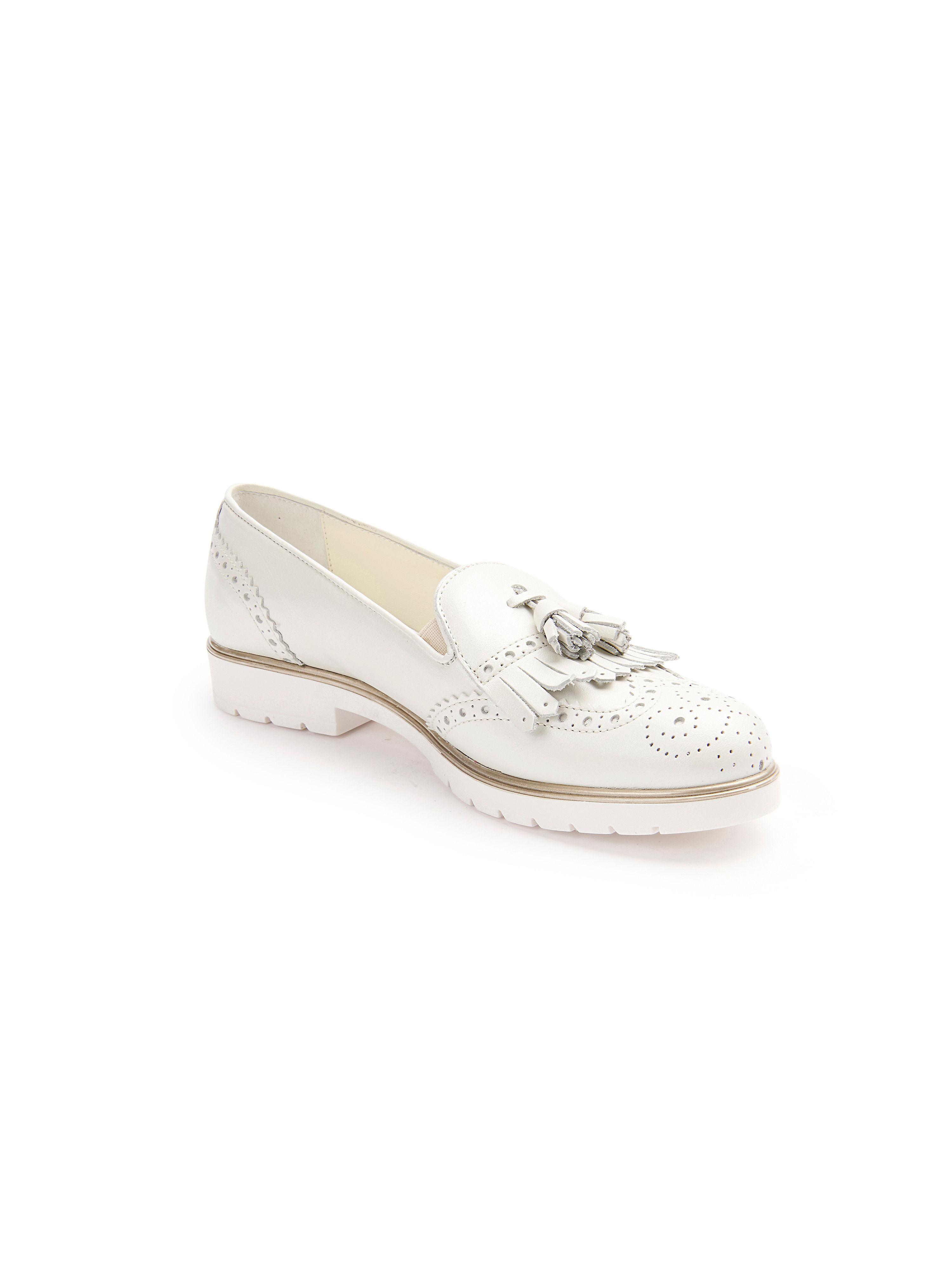 Peter Hahn exquisit - Slipper - Weiß Gute Qualität beliebte Schuhe