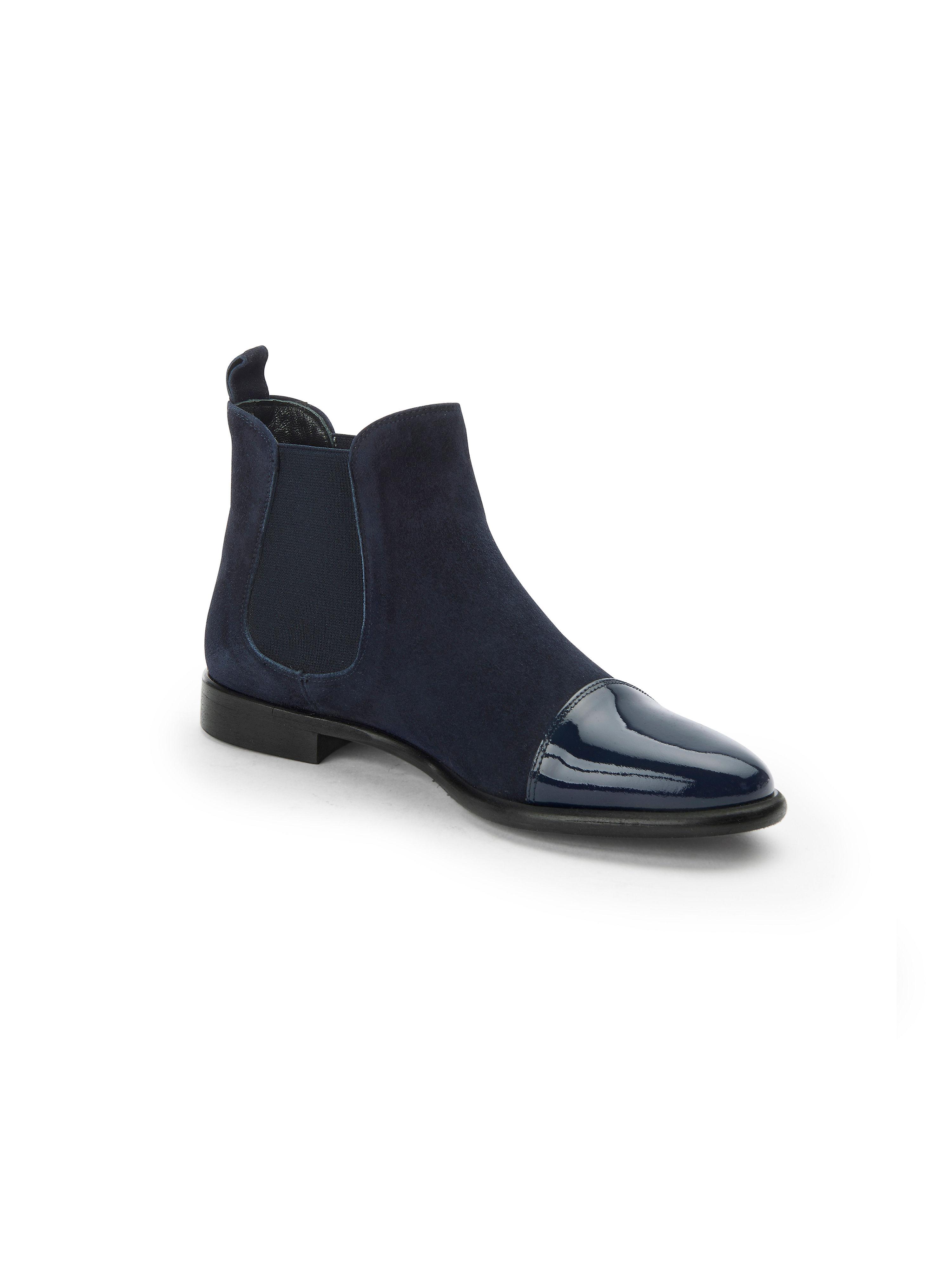 Peter Hahn exquisit - Stiefelette aus 100% Leder - Marine Gute Qualität beliebte Schuhe