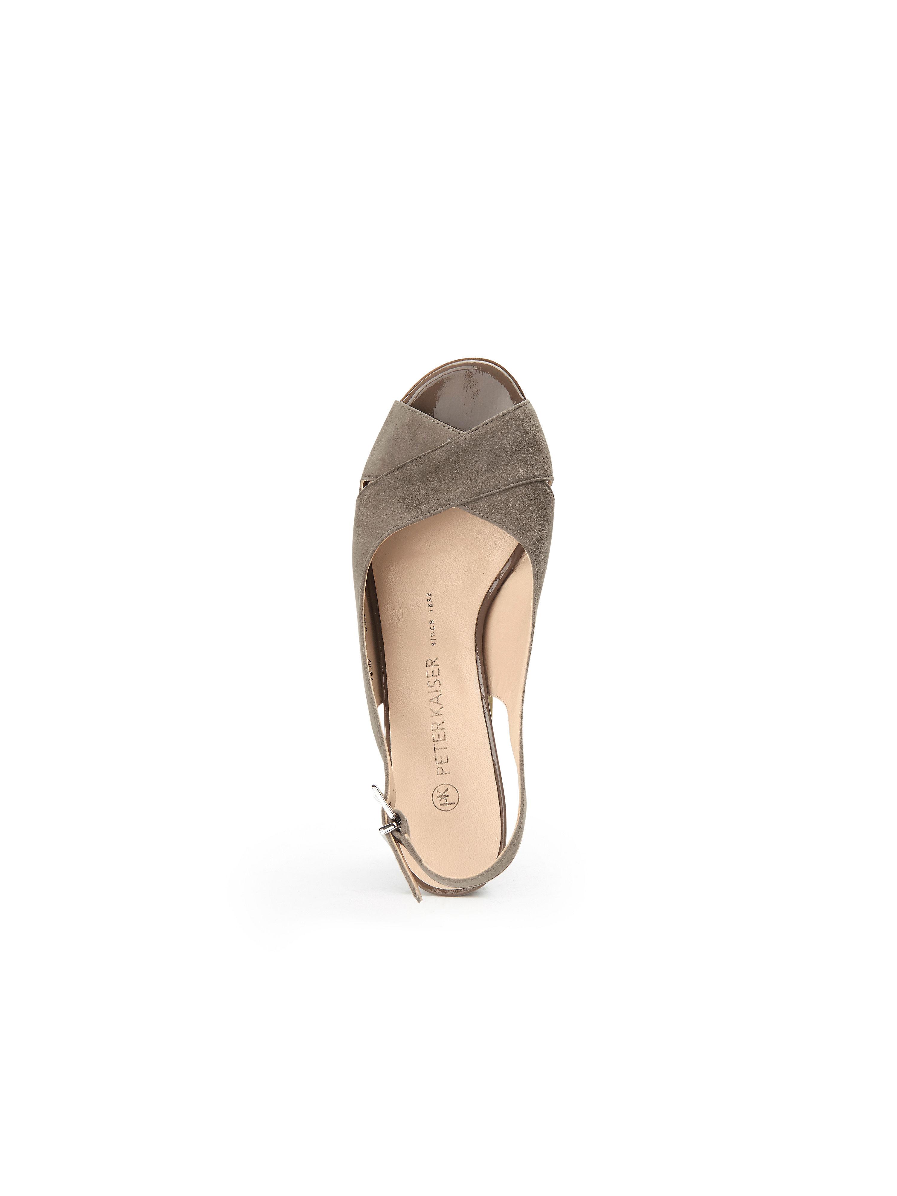 Peter Kaiser - Sandale Pilia Pilia Pilia aus 100% Leder - Taupe Gute Qualität beliebte Schuhe 22f59a