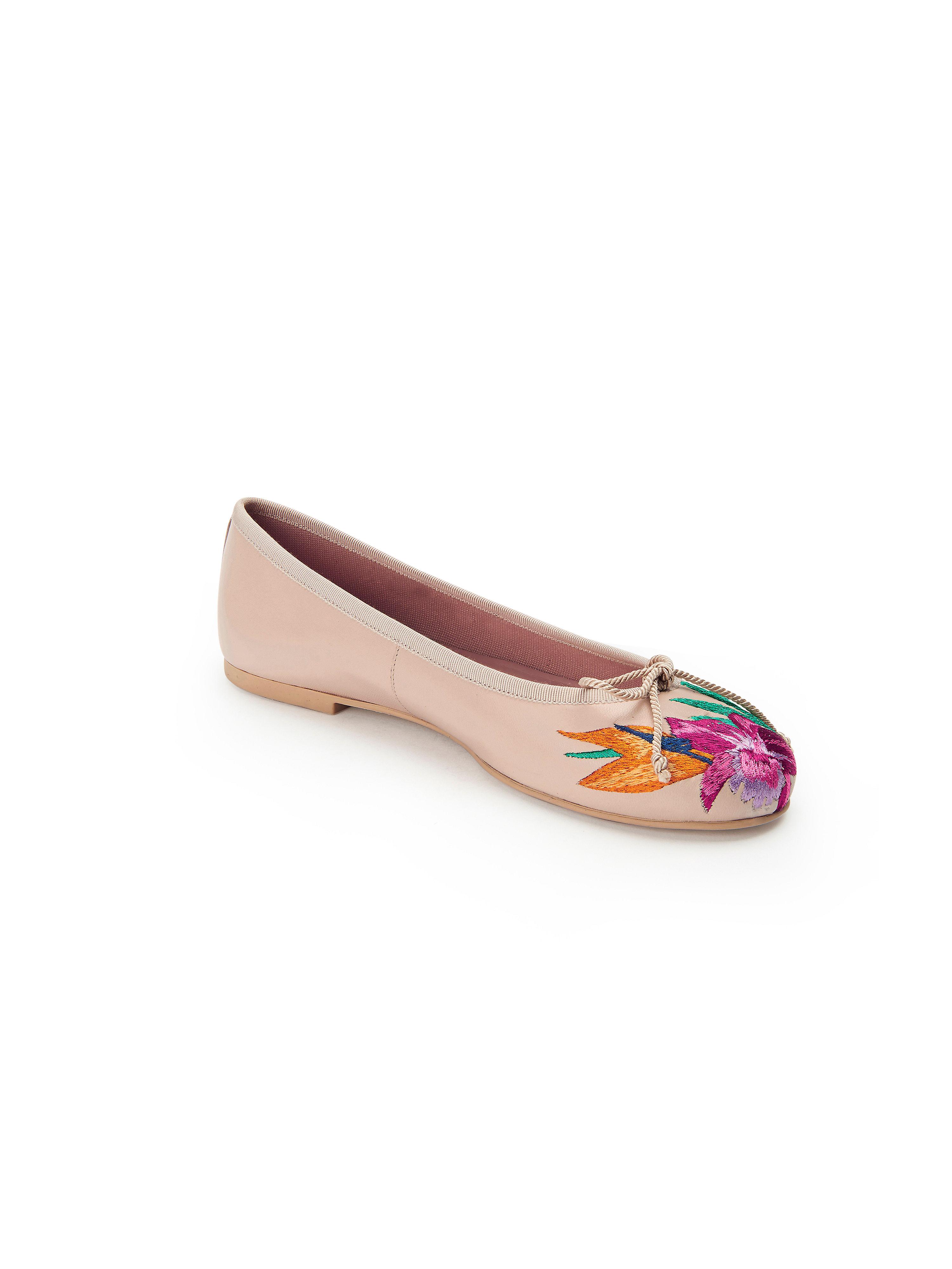 Pretty Ballerinas - Ballerina aus 100% Leder - Nude/Multicolor Gute Qualität beliebte Schuhe