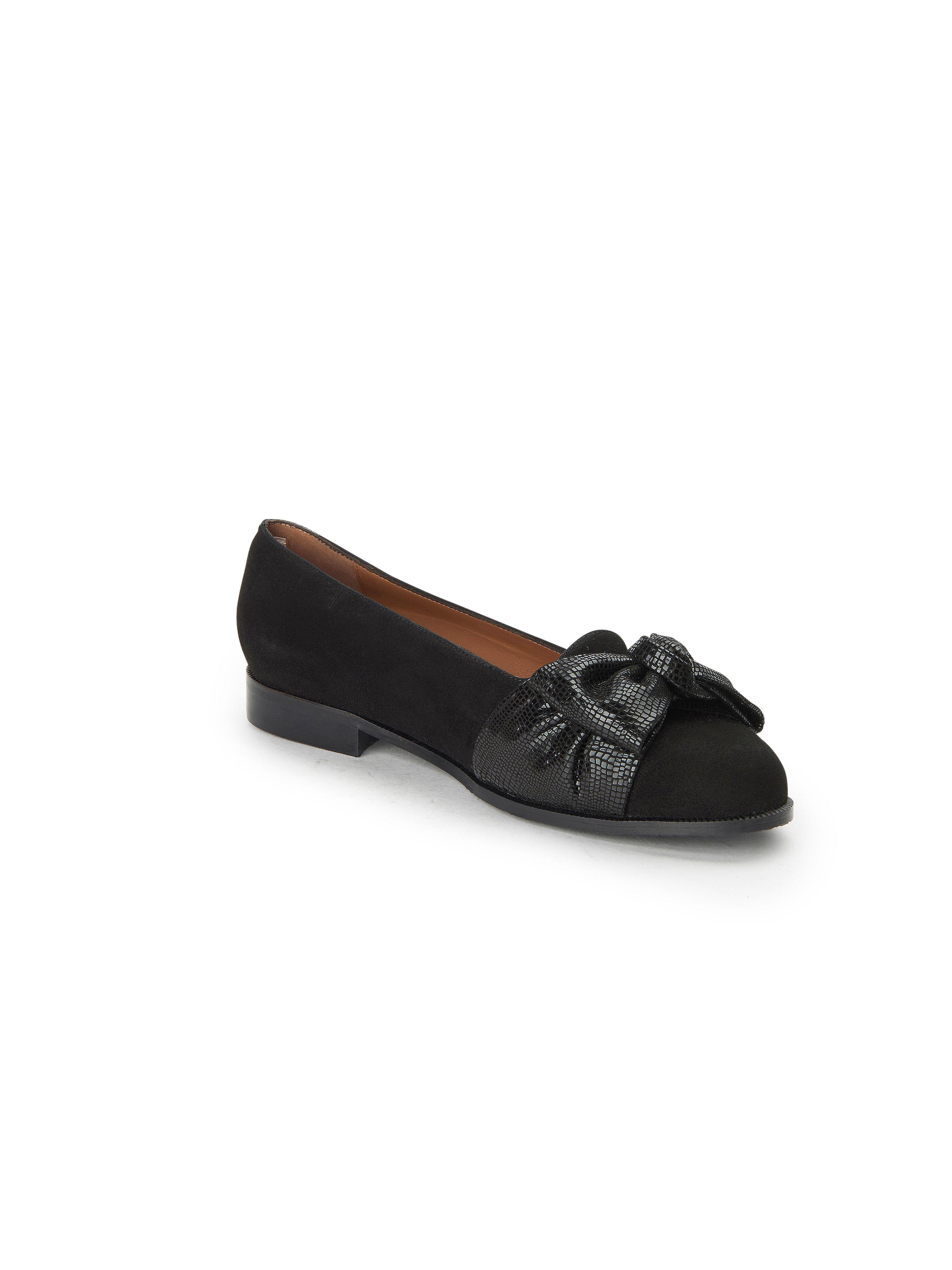Scarpio - Ballerina aus 100% Leder - Schwarz Gute Qualität beliebte Schuhe