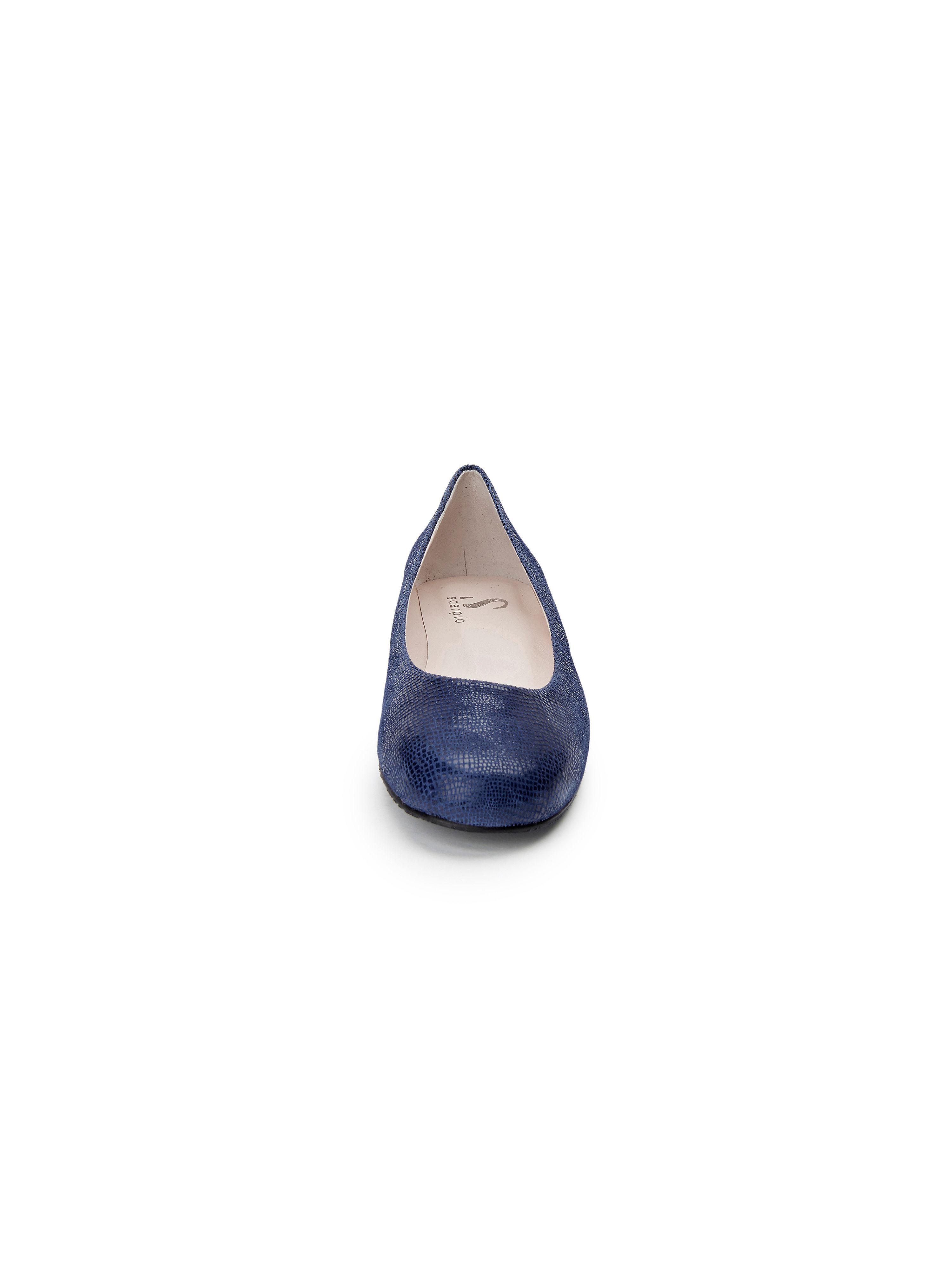 Scarpio - Flexibler Ballerina aus 100% Qualität Leder - Marine Gute Qualität 100% beliebte Schuhe 72d8ae