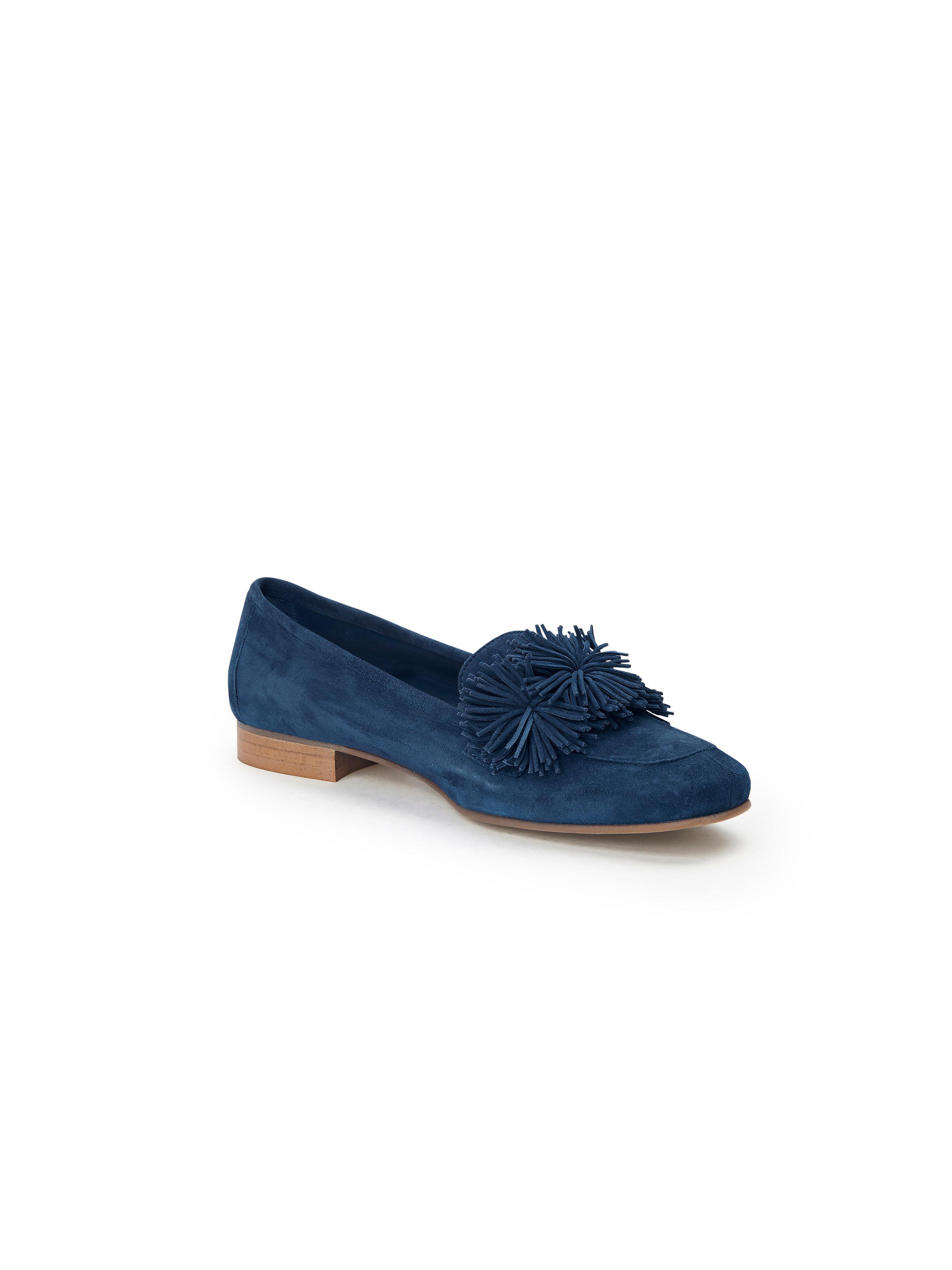 Scarpio - Slipper aus 100% Leder - Blau Gute Qualität beliebte Schuhe