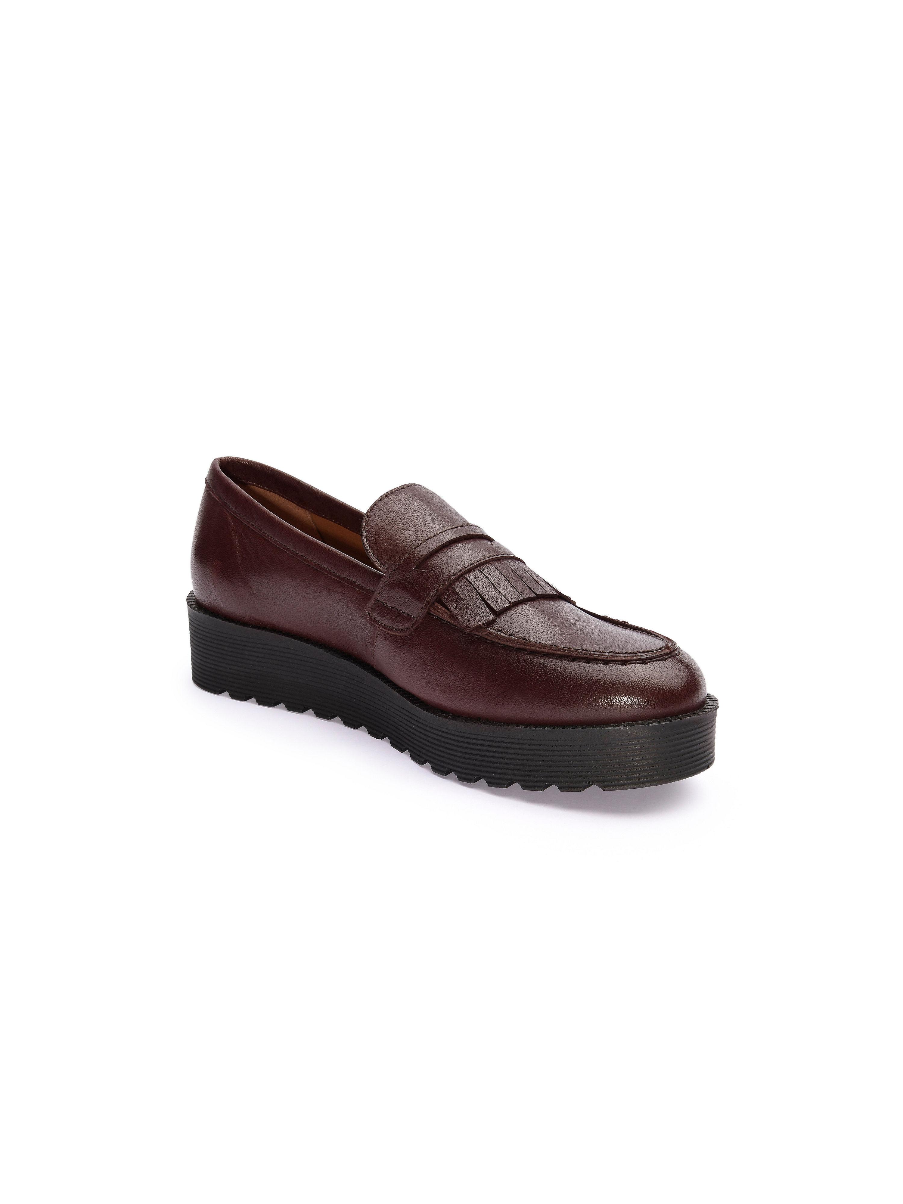 Scarpio - Slipper aus feinem Nappaleder - Bordeaux Gute Qualität Qualität Qualität beliebte Schuhe 01146c