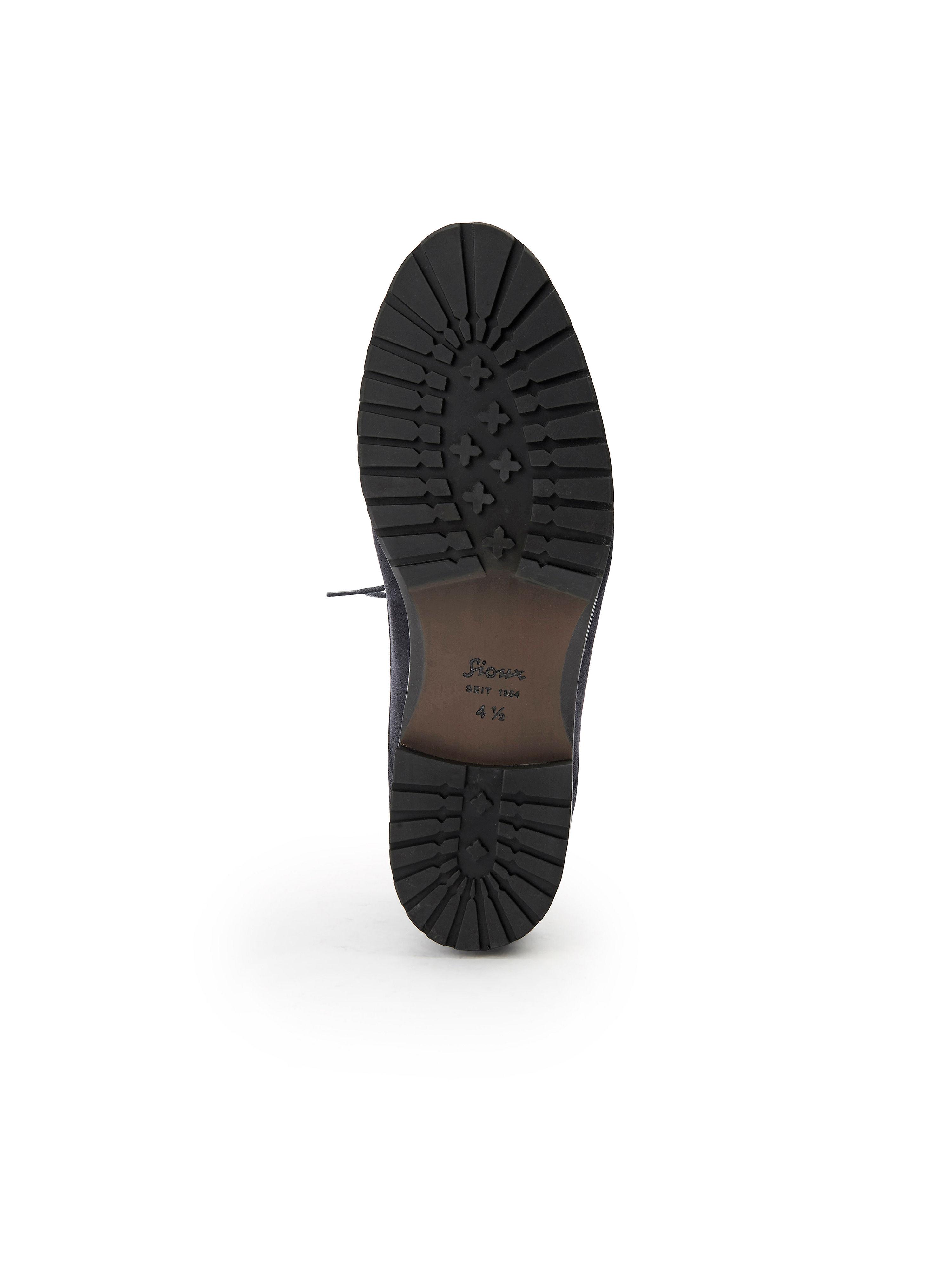 Sioux aus - Knöchelhohe Schnür-Stiefelette Erdin aus Sioux 100%Leder - Marine Gute Qualität beliebte Schuhe c91573