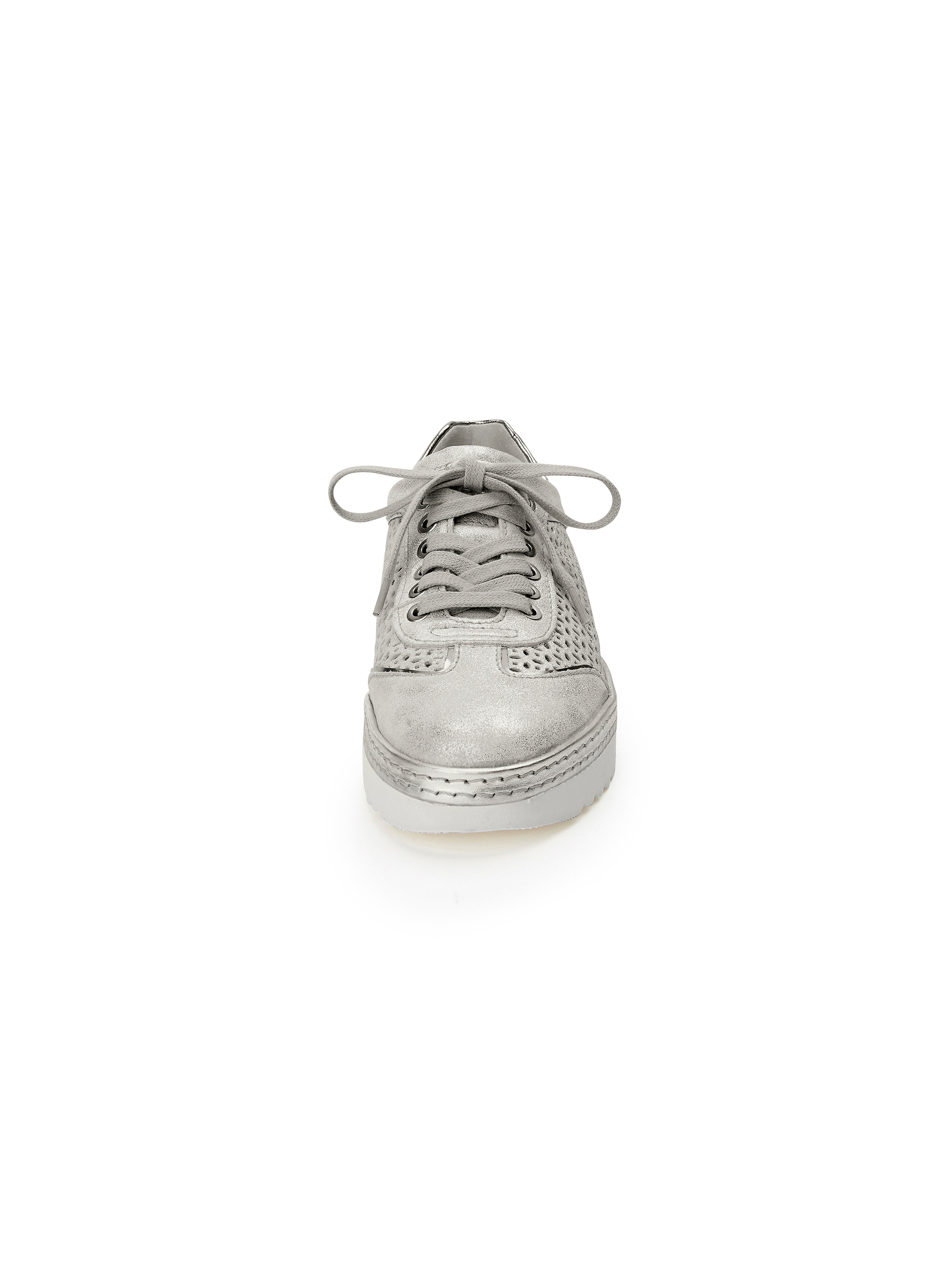 Sioux - Sneaker Oxiria aus 100% Qualität Leder - Silber-Metallic Gute Qualität 100% beliebte Schuhe 614953