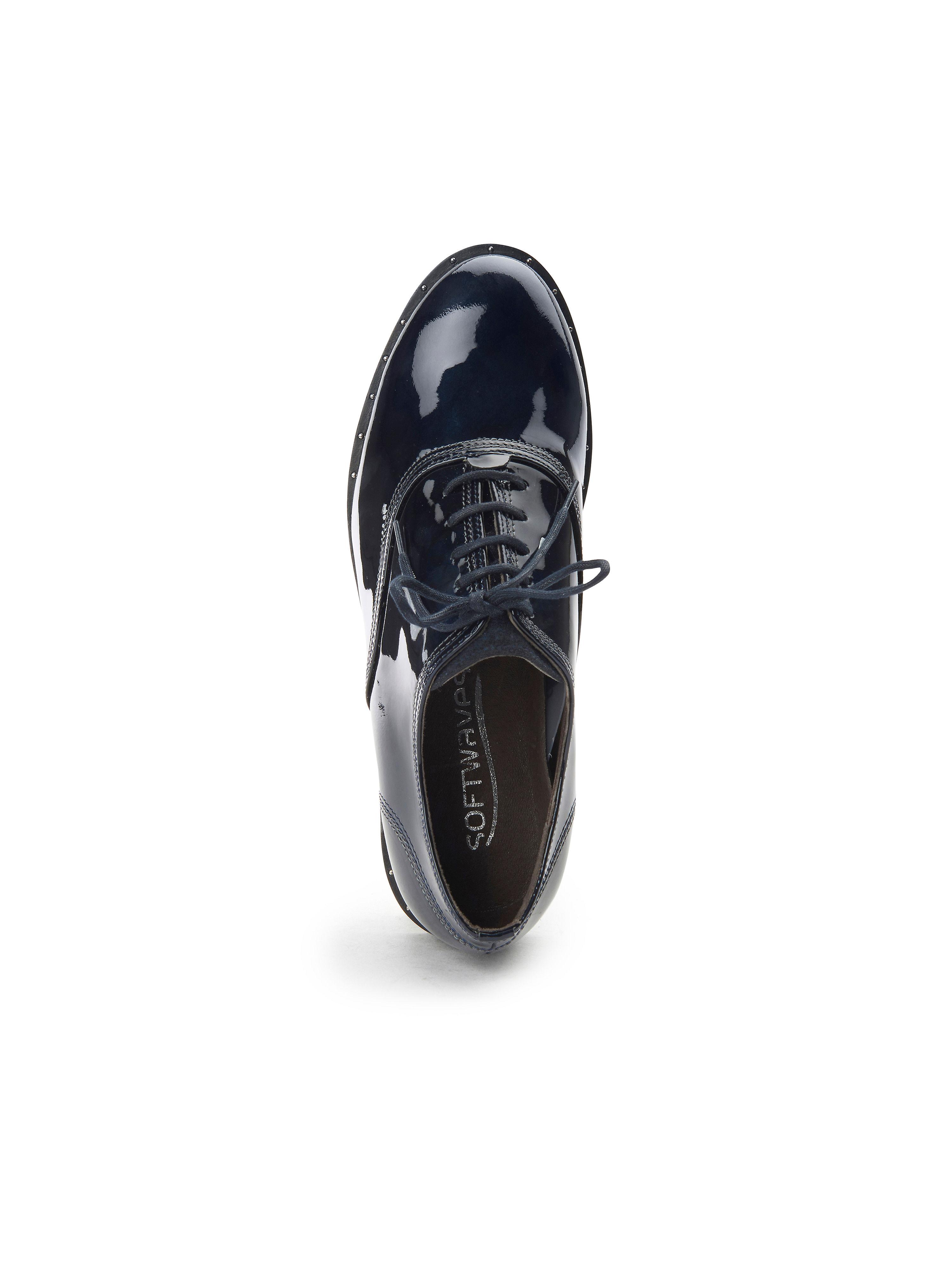 Softwaves - - Schnürer aus 100% Leder - - Marine Gute Qualität beliebte Schuhe d08fde