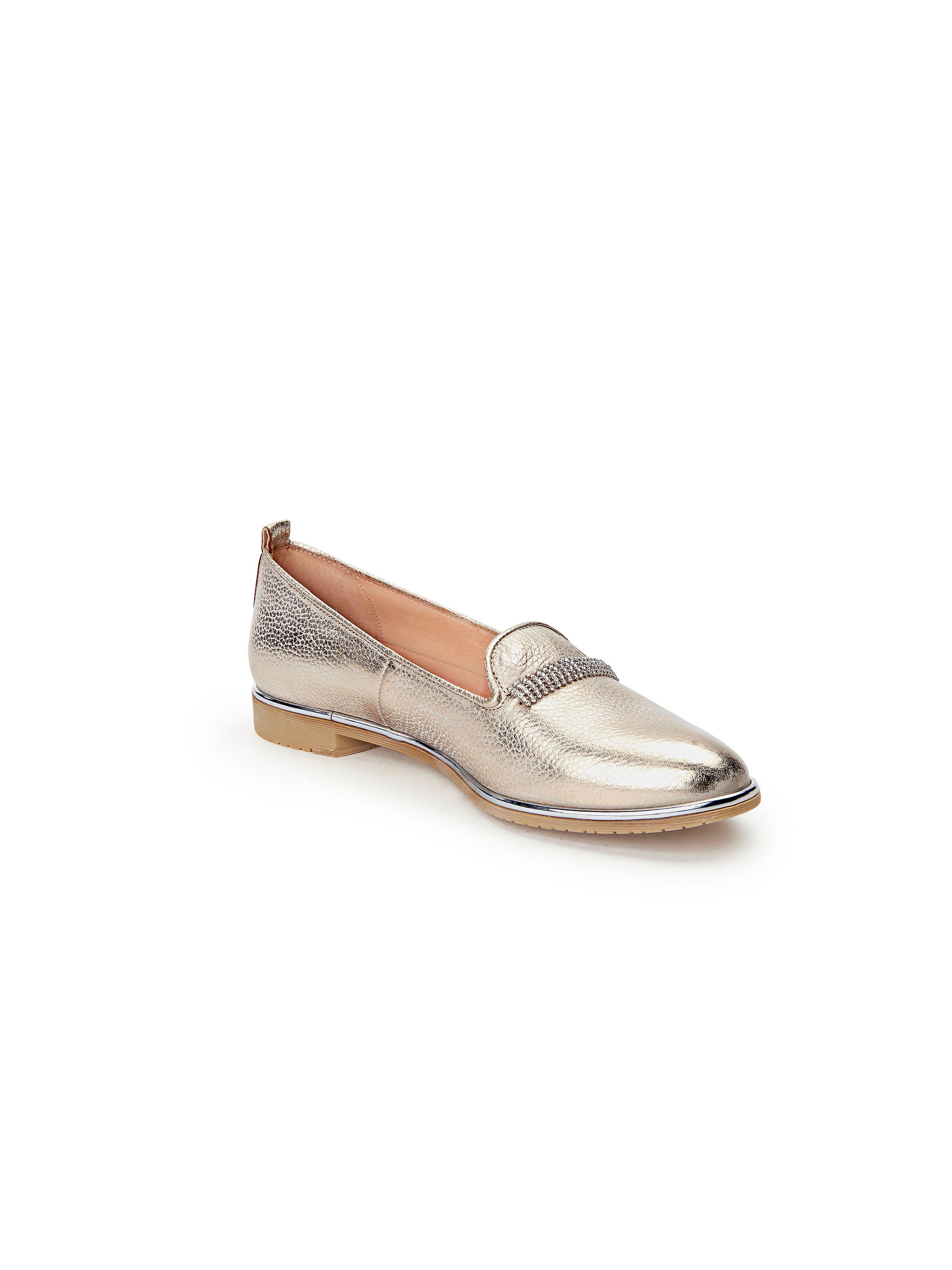 Softwaves - Slipper Qualität aus 100% Leder - Lightgold Gute Qualität Slipper beliebte Schuhe 77406f