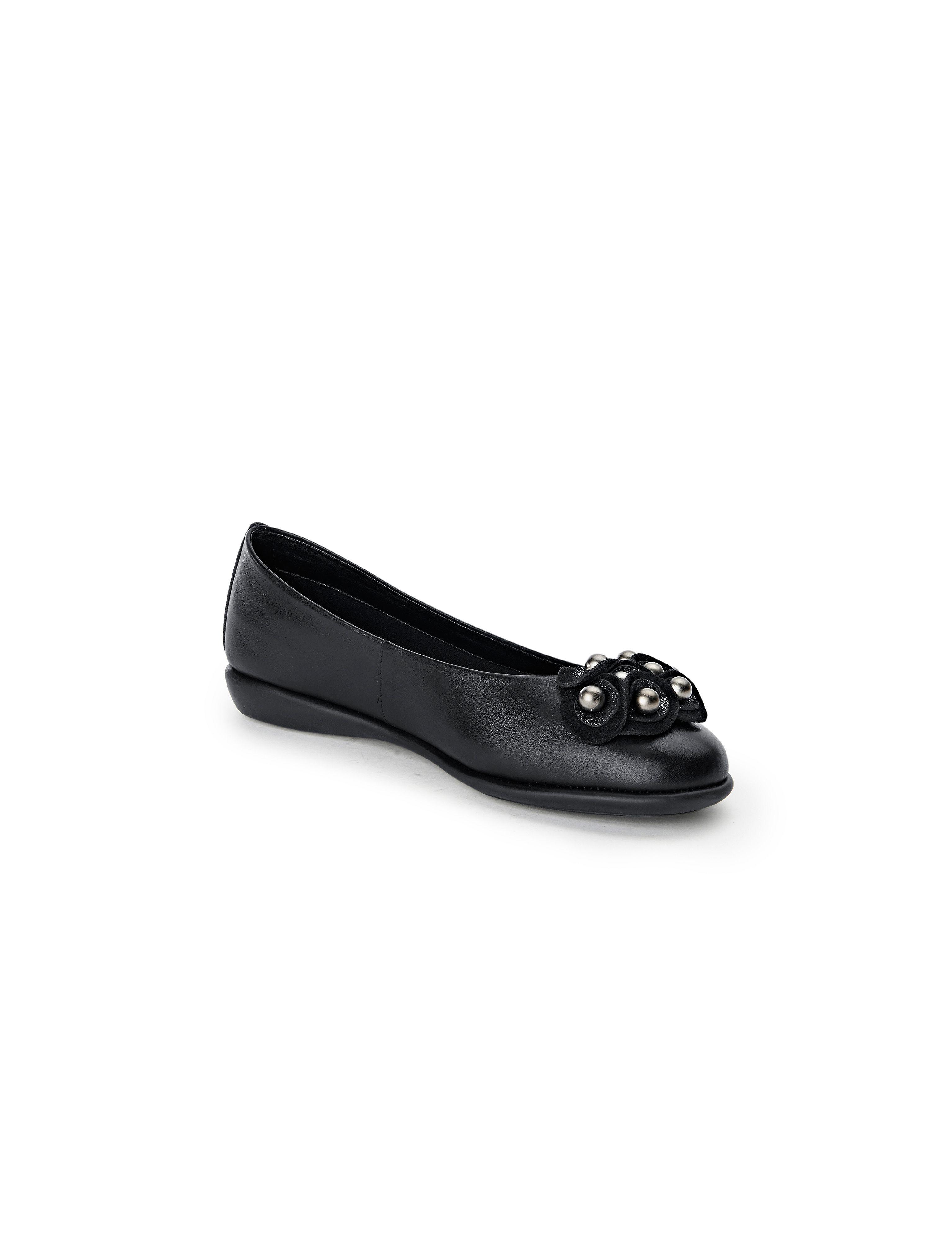 The Schwarz Flexx - Ballerina aus 100% Leder - Schwarz The Gute Qualität beliebte Schuhe 67671b