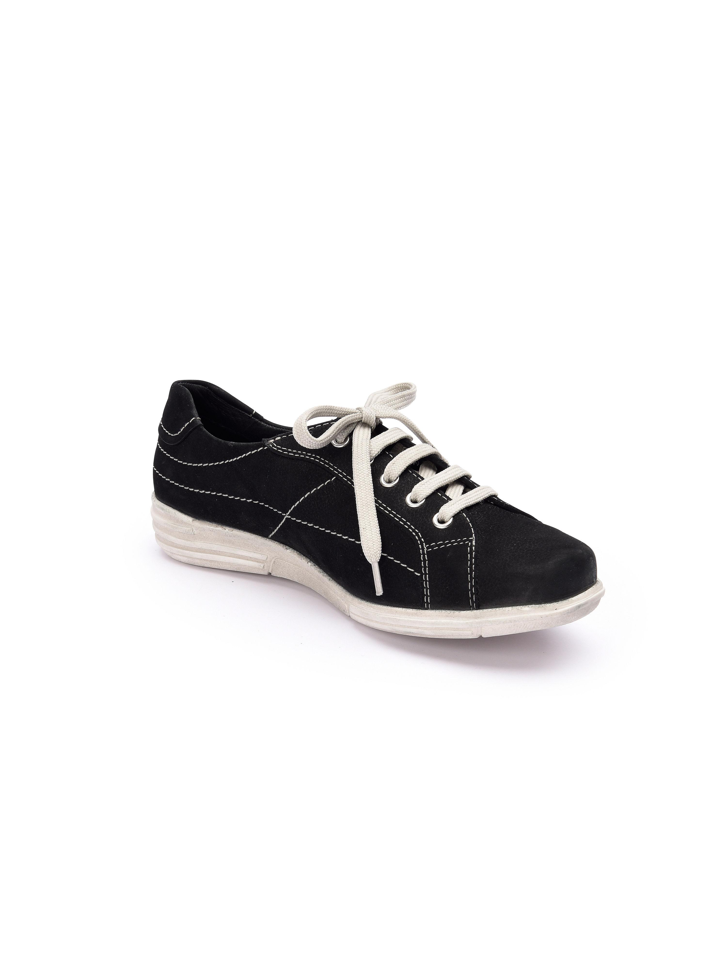 Theresia M. - Schnürer - Schwarz Gute Qualität beliebte Schuhe