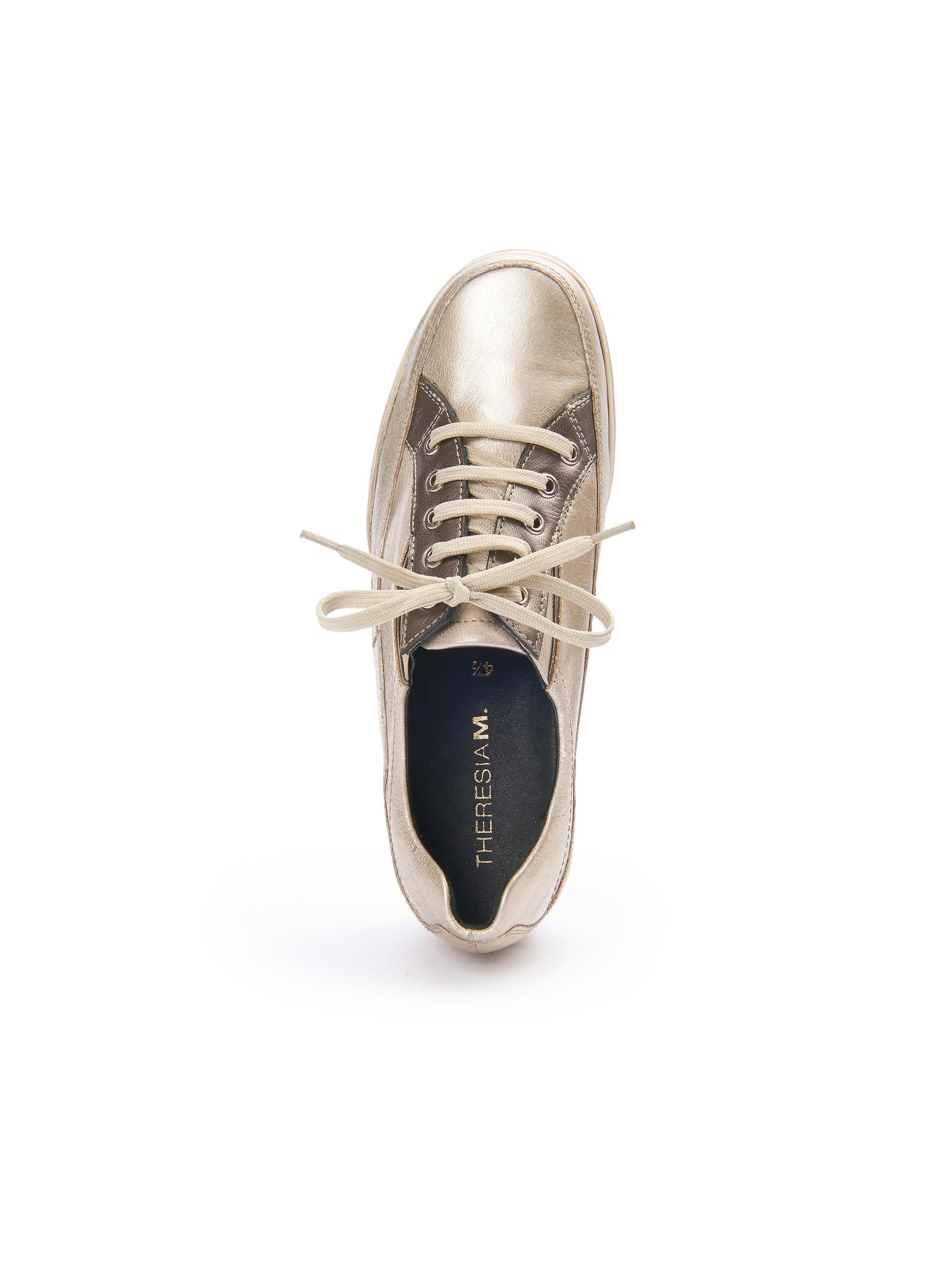 Theresia M. - Gute Sportiver Schnürer - Platin-Metallic Gute - Qualität beliebte Schuhe 887ba5