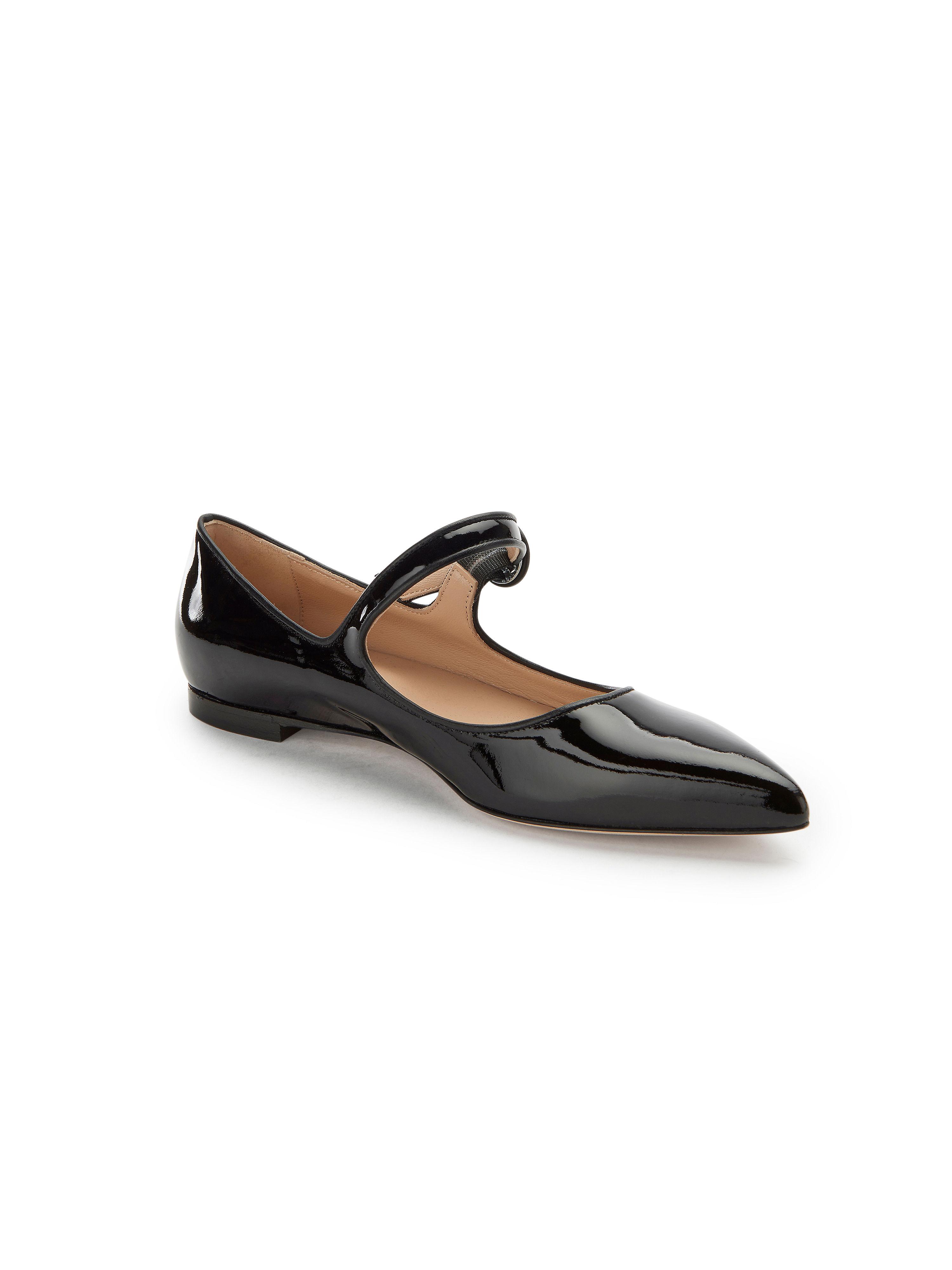 Uta Schwarz Raasch - Ballerina aus 100% Leder - Schwarz Uta Gute Qualität beliebte Schuhe 175ac5