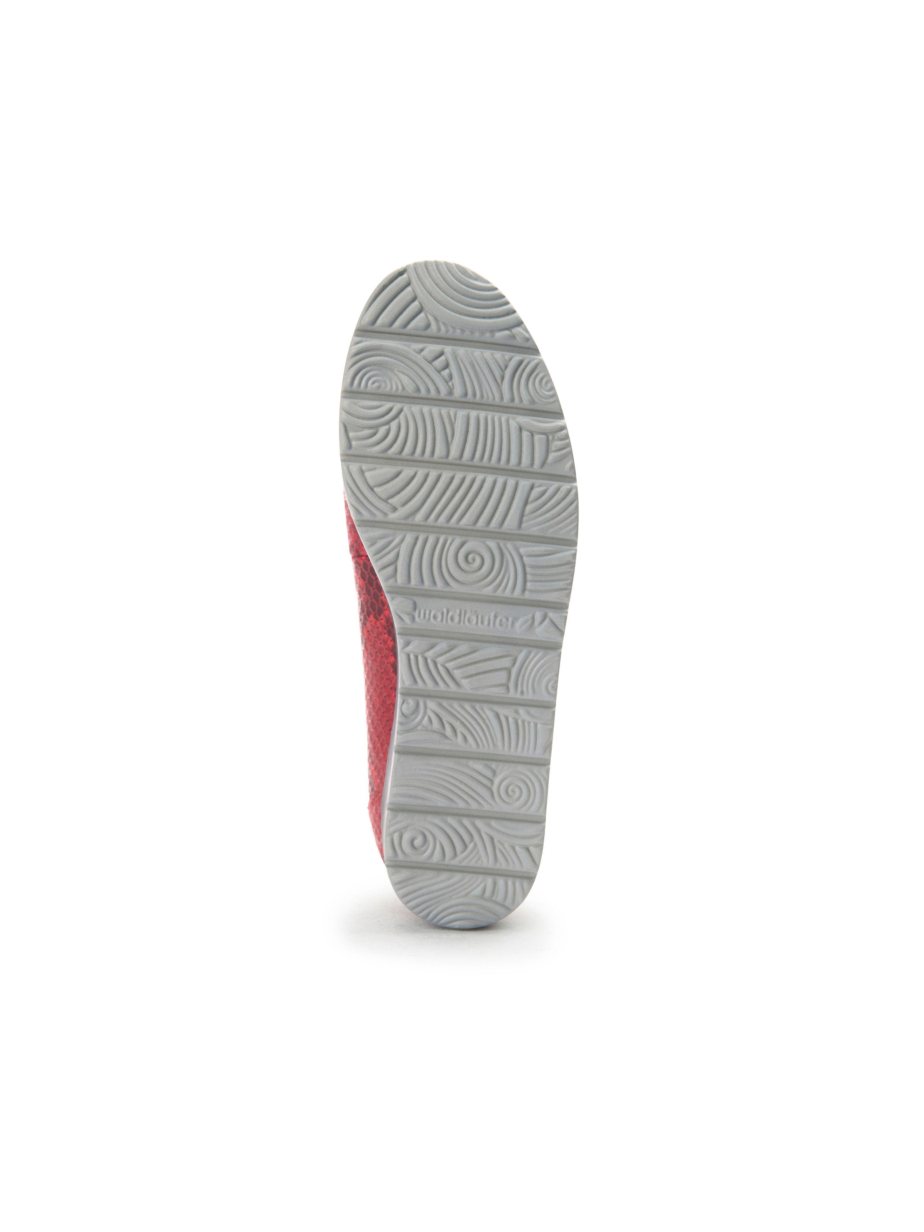 Waldläufer Rot-Metallic - Ballerina Hara aus 100% Leder - Rot-Metallic Waldläufer Gute Qualität beliebte Schuhe ec8c26