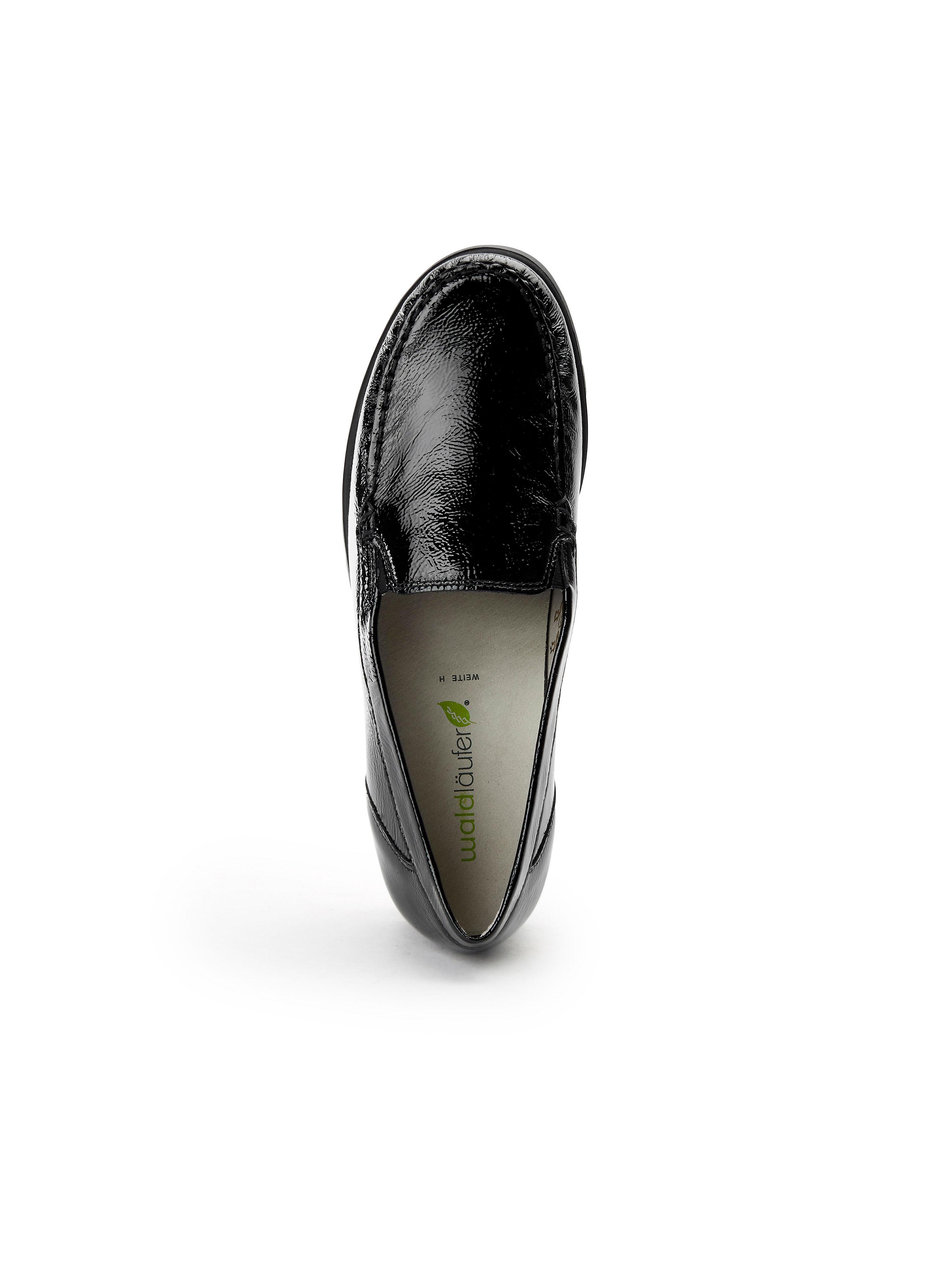 Waldläufer 100% - Mokassin Hegli aus 100% Waldläufer Leder - Schwarz Gute Qualität beliebte Schuhe 1e60bf