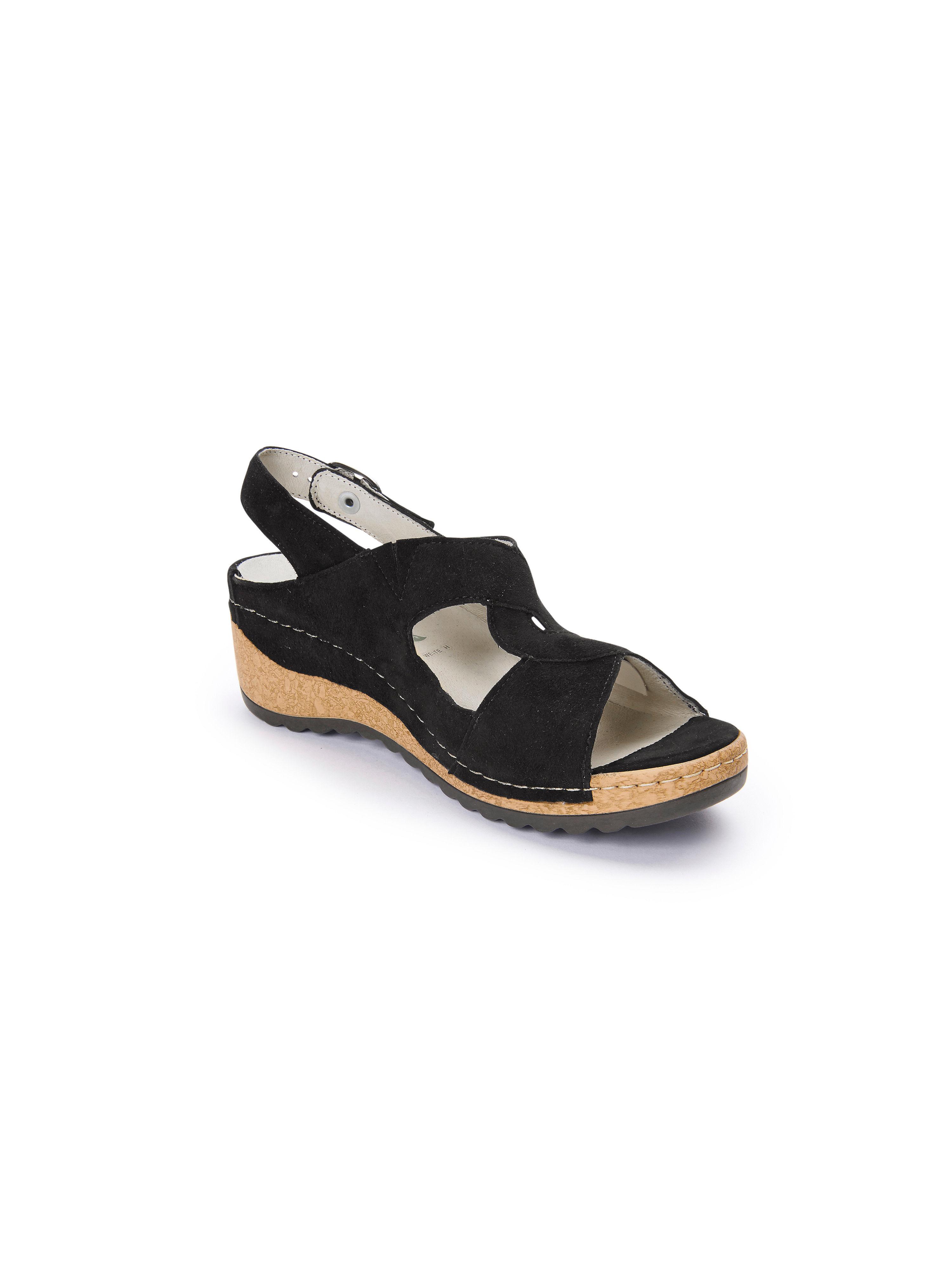 Waldläufer - Sandale Hanila aus 100% Leder - Schwarz Gute Qualität beliebte Schuhe