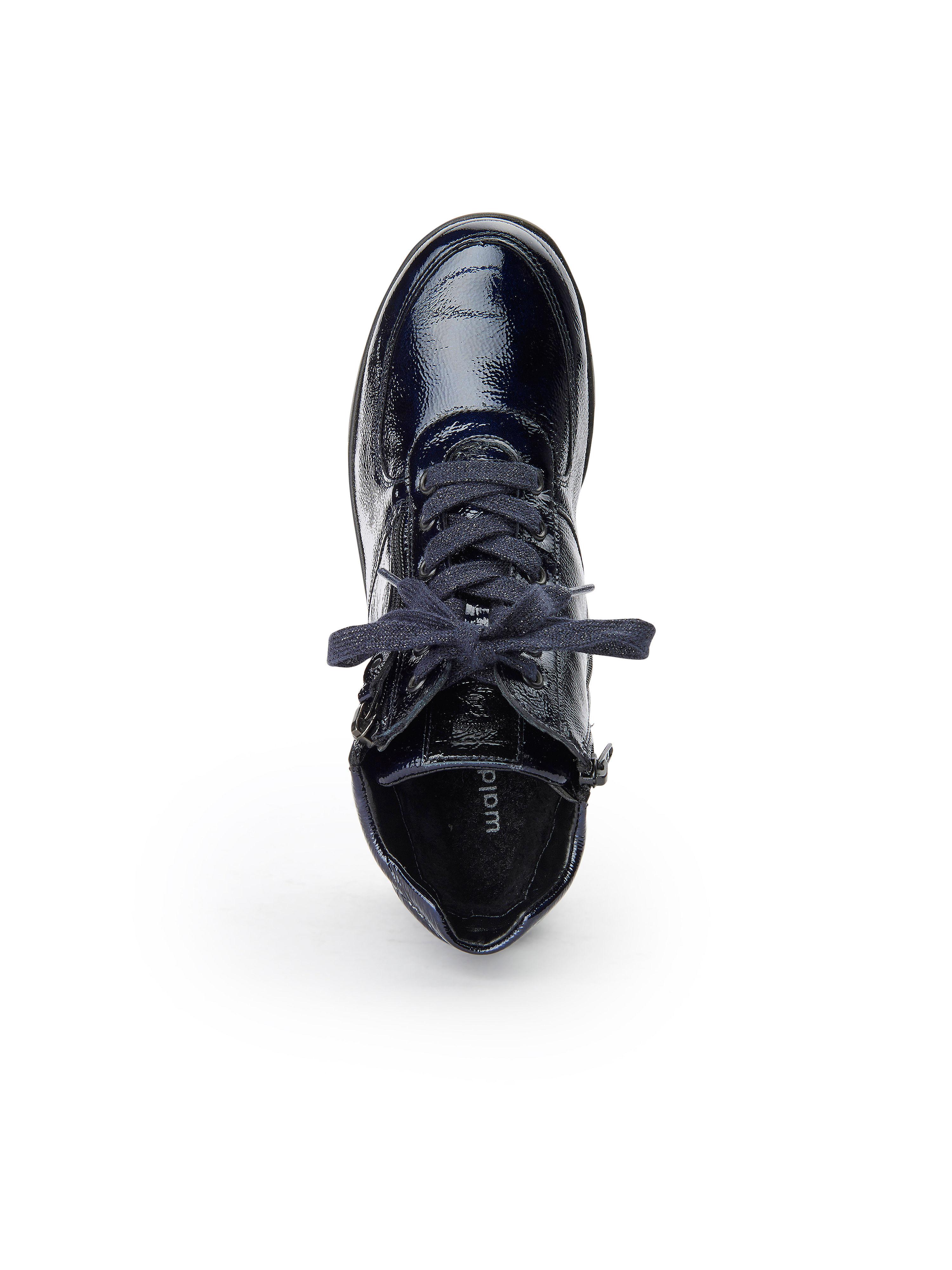 Waldläufer 100% - Schnür-Stiefelette Kaina aus 100% Waldläufer Leder - Marine Gute Qualität beliebte Schuhe 0d2439