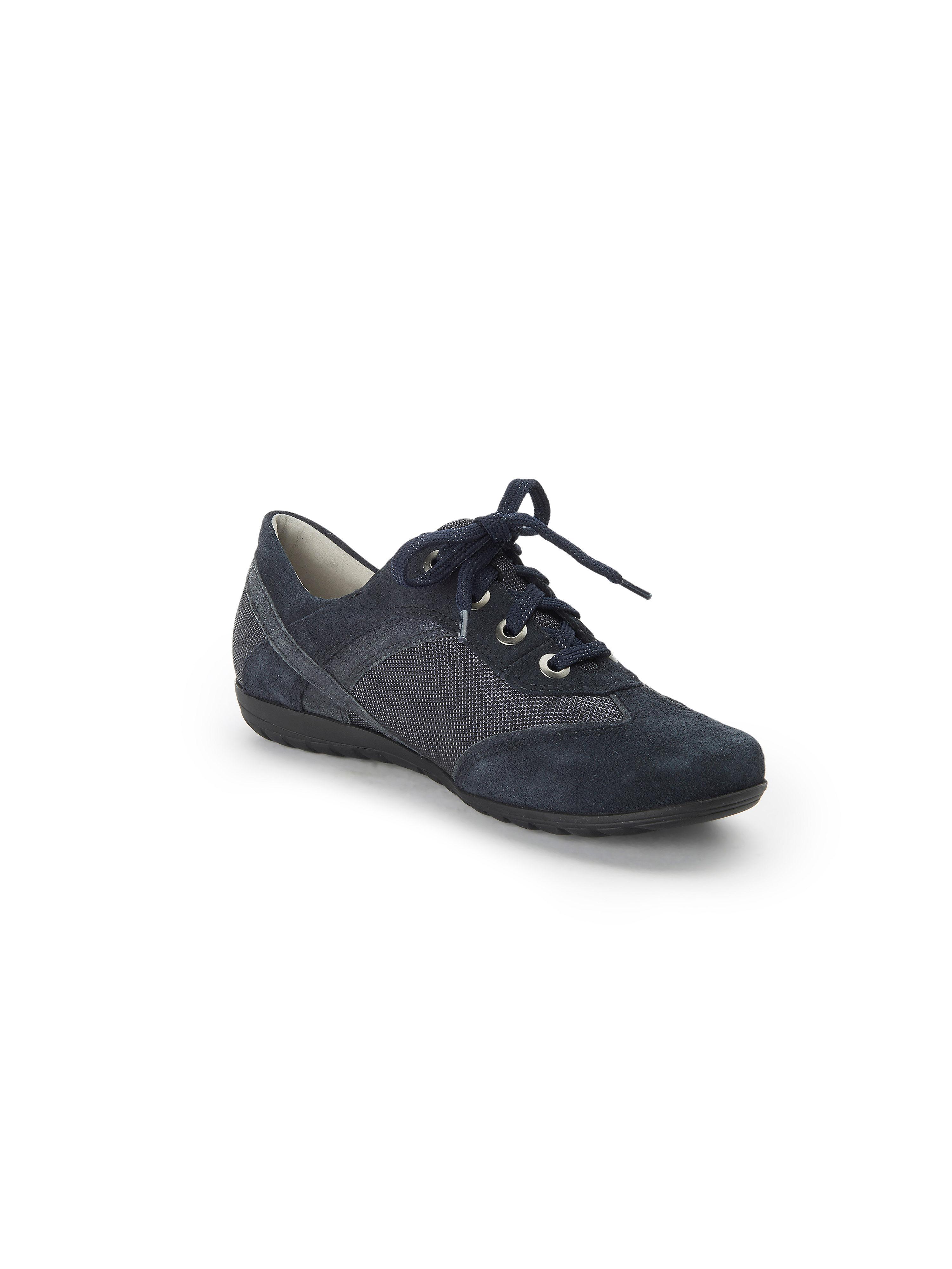 Waldläufer - Schnürer Hesima aus 100% Leder - Meerblau Gute Qualität beliebte Schuhe
