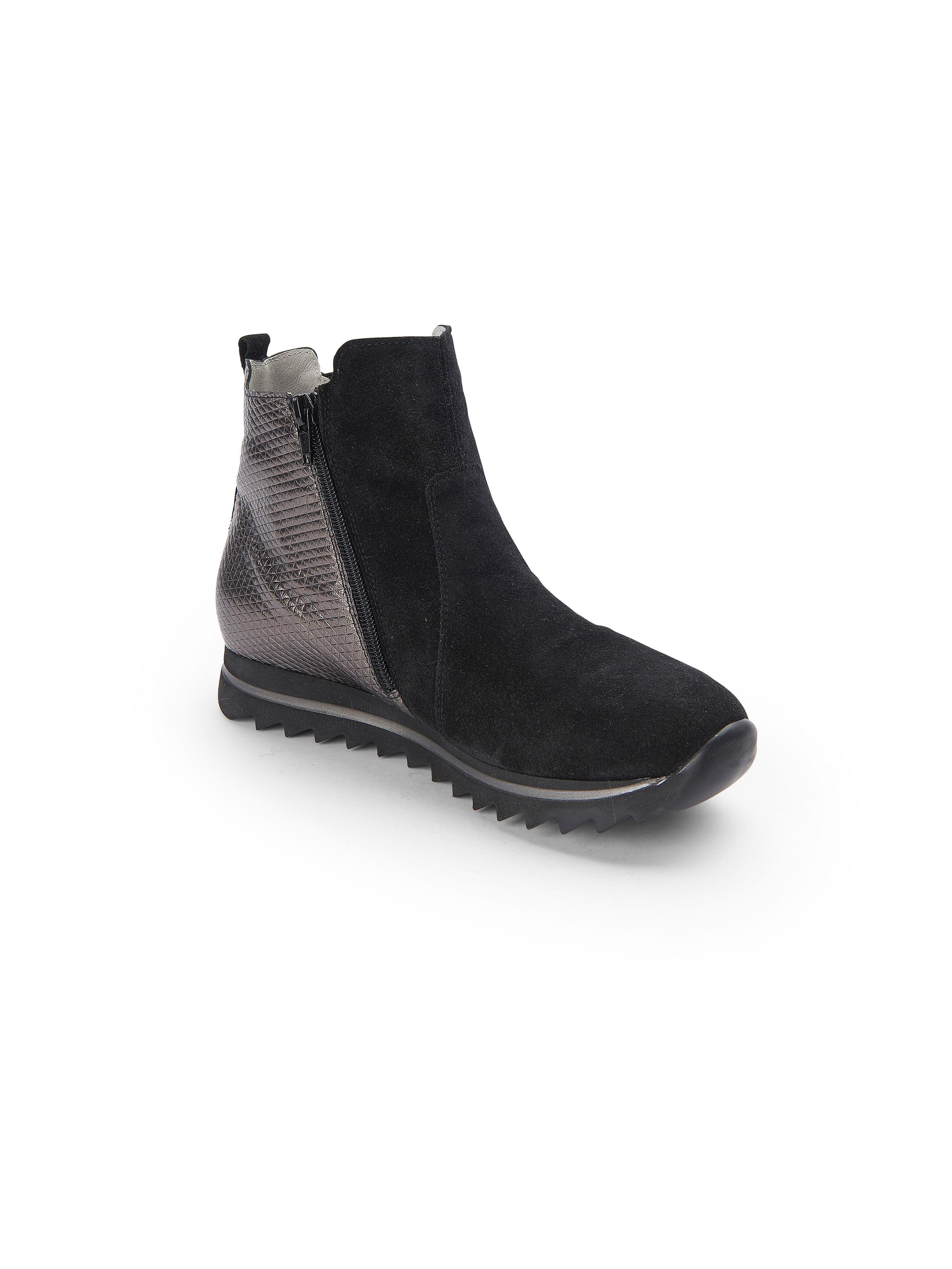 Waldläufer - Stiefelette HAIBA - Schuhe Schwarz/Anthrazit Gute Qualität beliebte Schuhe - 1441c2