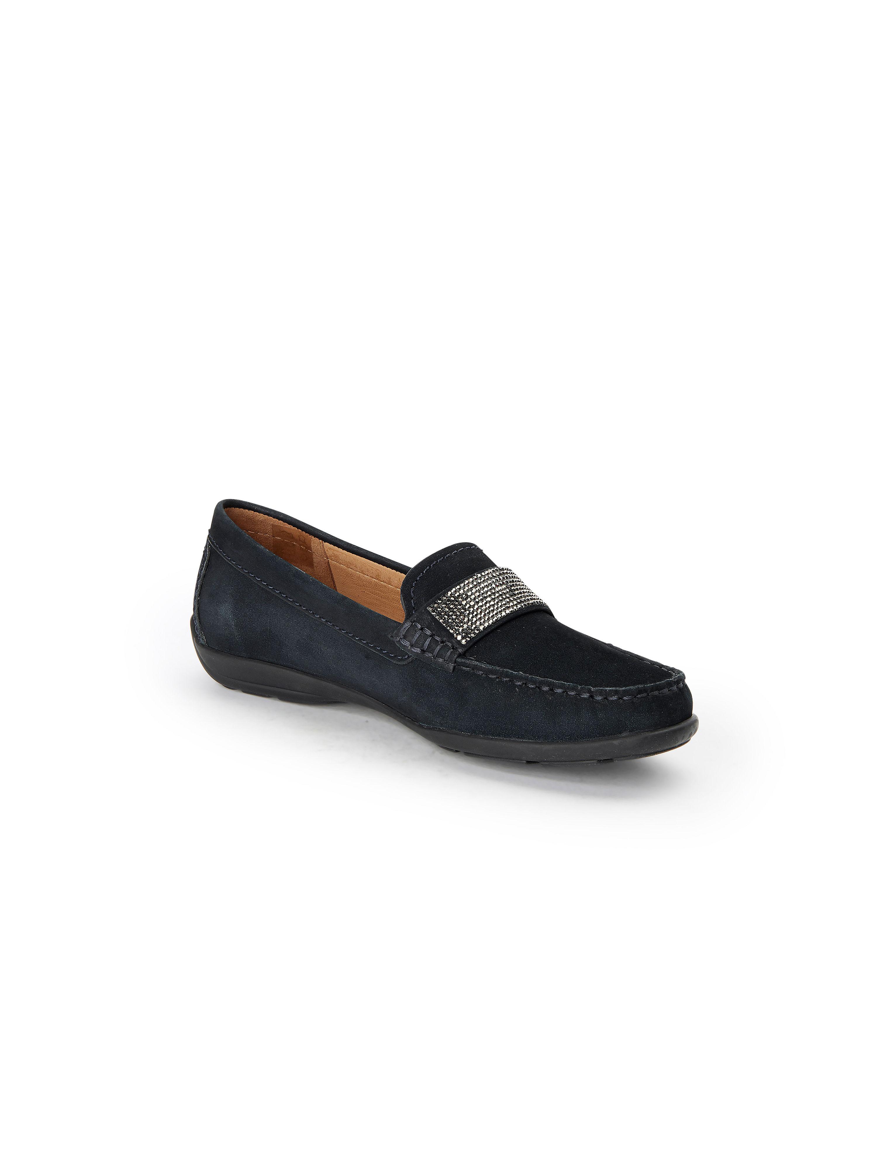 Wirth - Sehr flexibler Mokassin aus 100% Leder - Marine Gute Qualität beliebte Schuhe