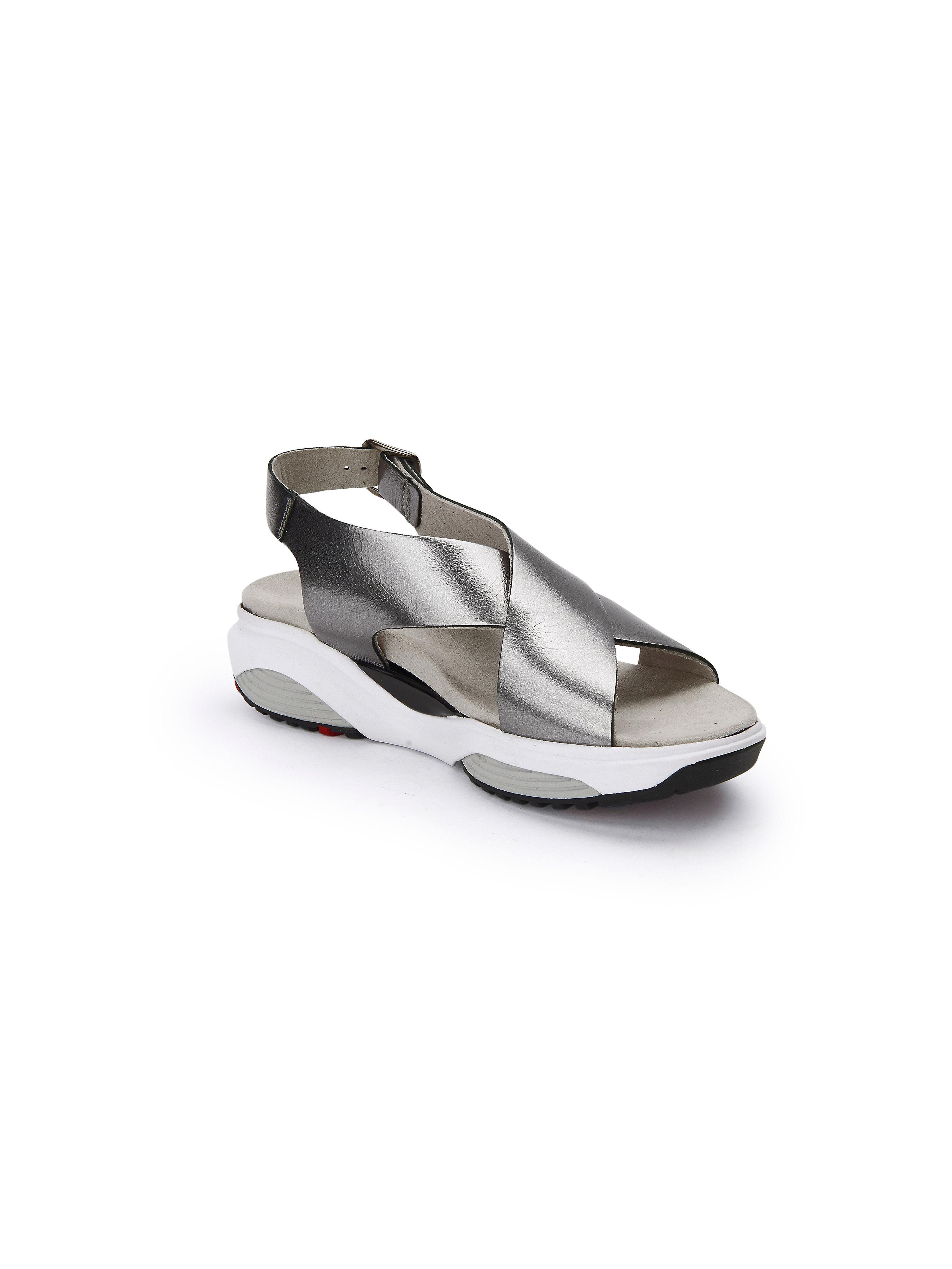 Xsensible - Sandale Stretchwalker beliebte - Silber-Metallic Gute Qualität beliebte Stretchwalker Schuhe 6b380a