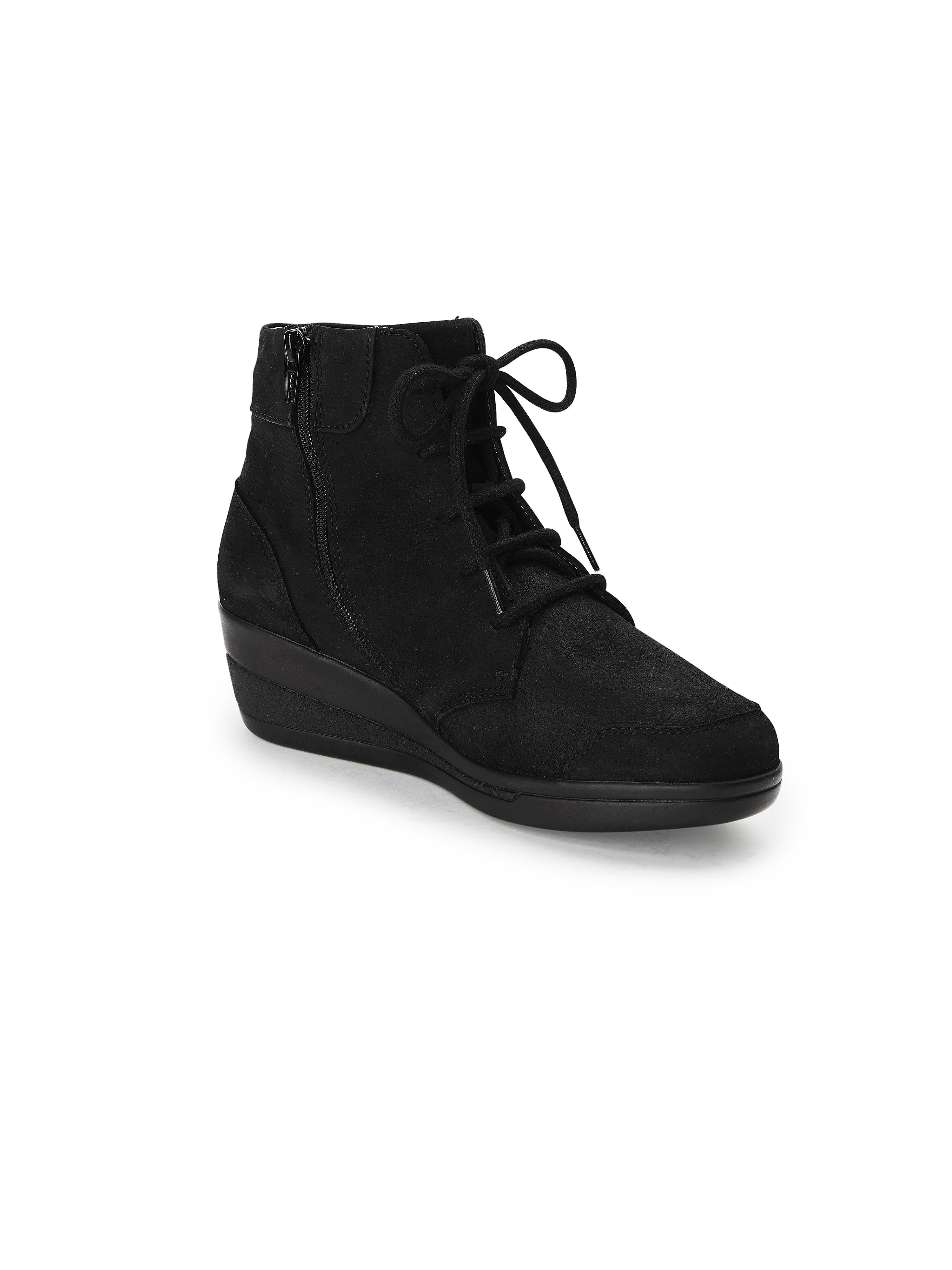 Xsensible - Schnür-Stiefelette Calla aus 100% Leder - Schuhe Schwarz Gute Qualität beliebte Schuhe - c3c4f2