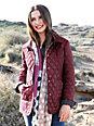 Anna Aura - Quiltet jakke
