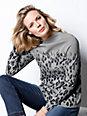 DAY.LIKE - Stehbund-Pullover