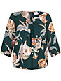 JUNAROSE - Bluse mit schönem Blumendruck
