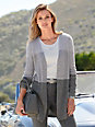 Laura Biagiotti Donna - Long cardigan in 100% cashmere