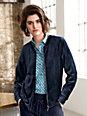 Looxent - Velour blouson jacket