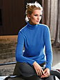 Peter Hahn Cashmere - Coltrui van 100% kasjmier model Roxy