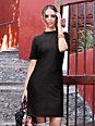 Peter Hahn - Kleid mit modischem und innovativem Material-Mix
