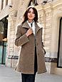 Peter Hahn - Le manteau court, ligne classique, poches