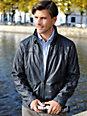 TRAPPER - Leather jacket