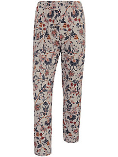 Green Cotton - 7/8-length pull-on trousers