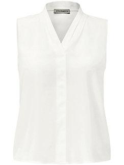 Uta Raasch - Ärmellose Bluse aus 100% Seide