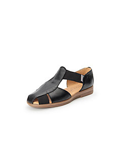 Sandals in 100% leather Aerobics black Aerobics WstwOePa8