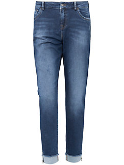 Emilia Lay - Ankellange jersey-jeans