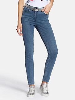 Skinny Damenjeans mit schmalen Bein   peterhahn.at d494e28378