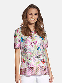 30c942383a3bdc Basler - Top with short sleeves