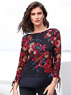 Longues Betty Manches Femme Barclay Shirts T b6yf7g