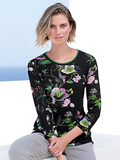 d17114c677d23 Betty Barclay - Round neck top with floral design