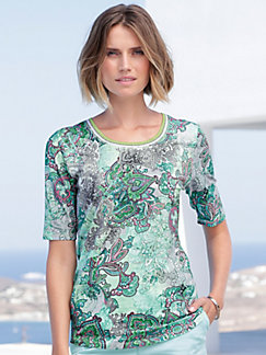 4c6a34b21d8 Betty Barclay - Round neck top with short sleeves